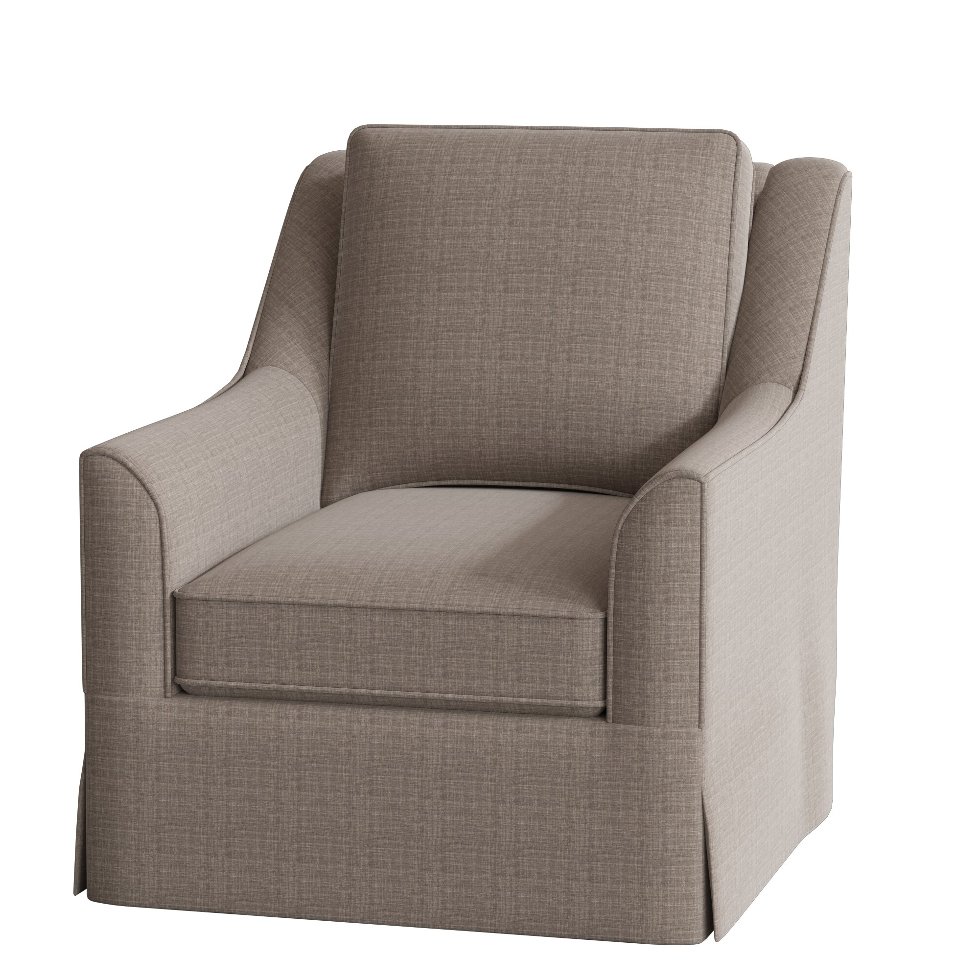 Briseno Barrel Chairs Pertaining To Best And Newest Bella Swivel Armchair (View 9 of 20)
