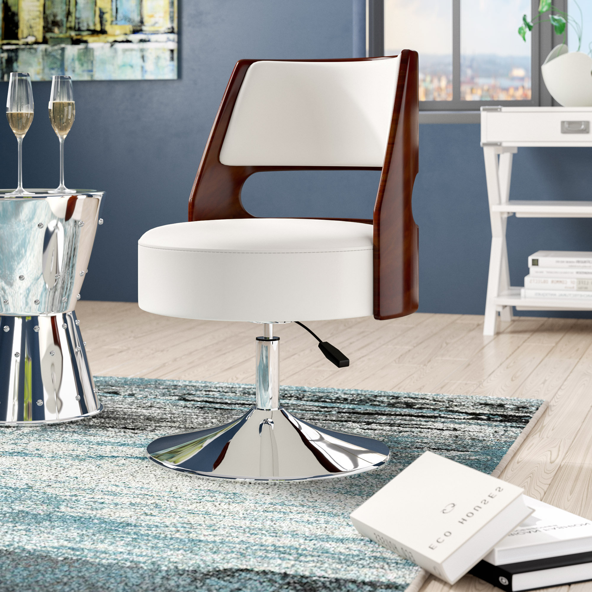 Brister Swivel Side Chairs In Trendy Raguel (View 17 of 20)