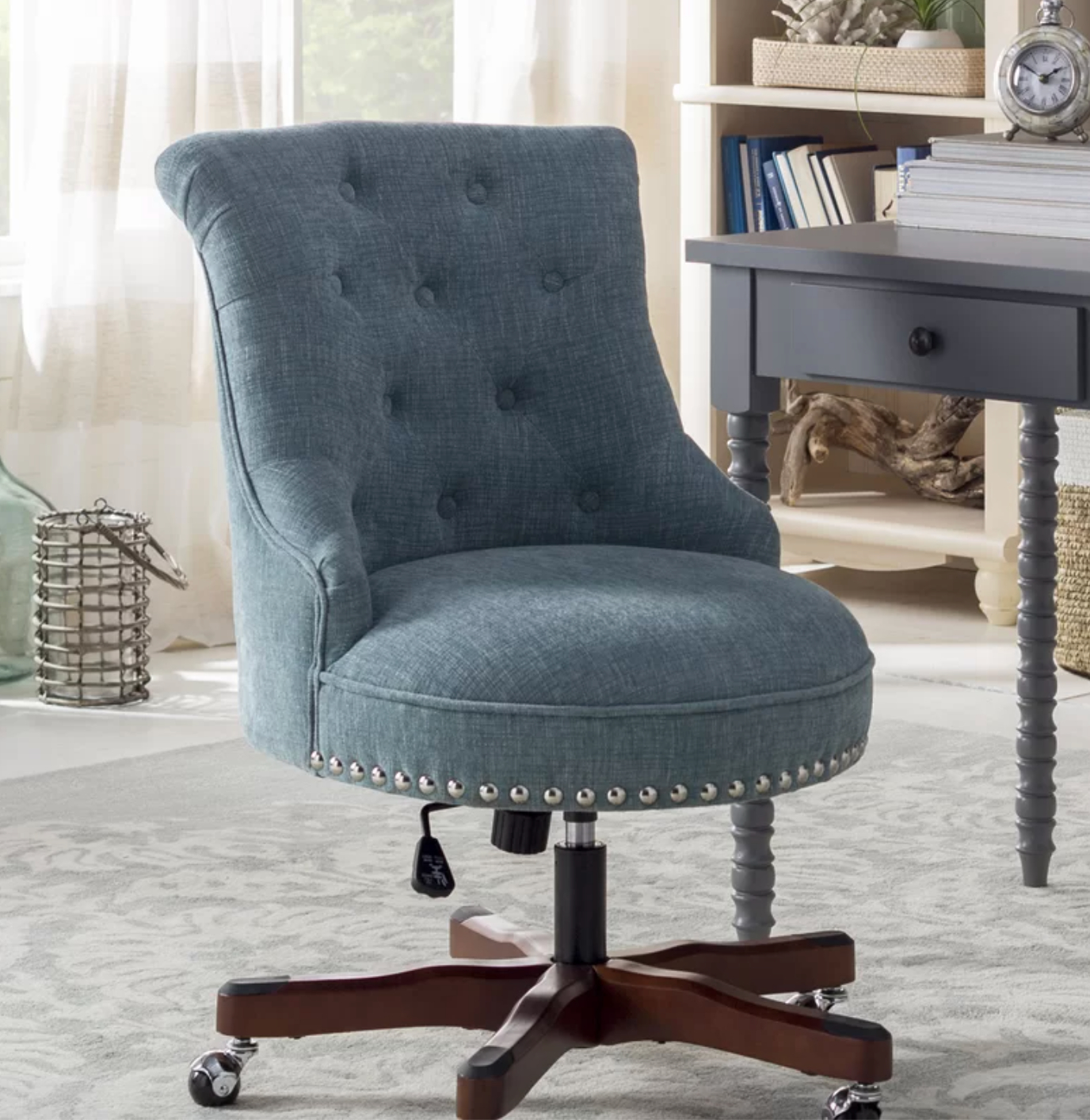 Brister Swivel Side Chairs Inside Popular Eckard Task Chair (View 19 of 20)