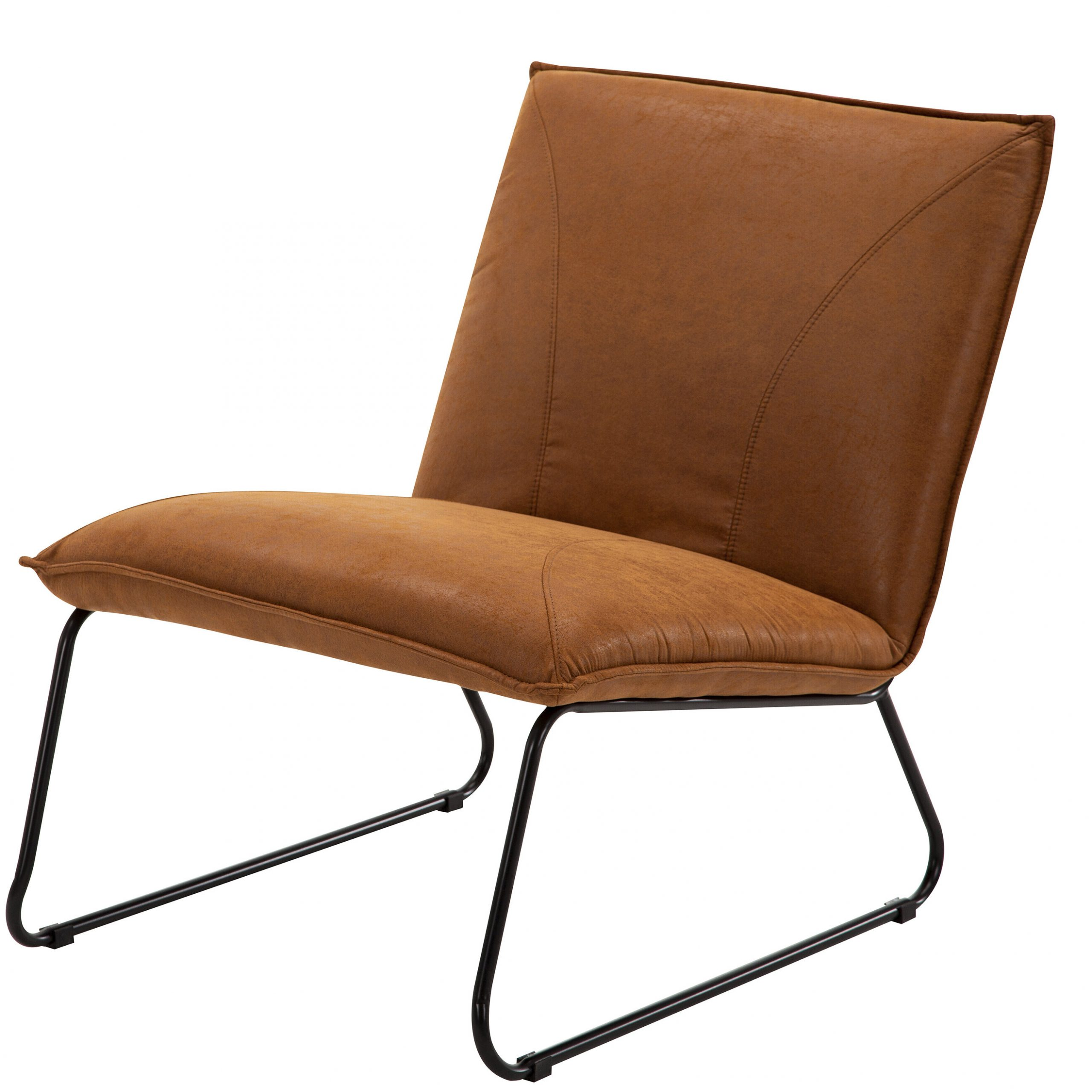 Featured Photo of Broadus Genuine Leather Suede Side Chairs