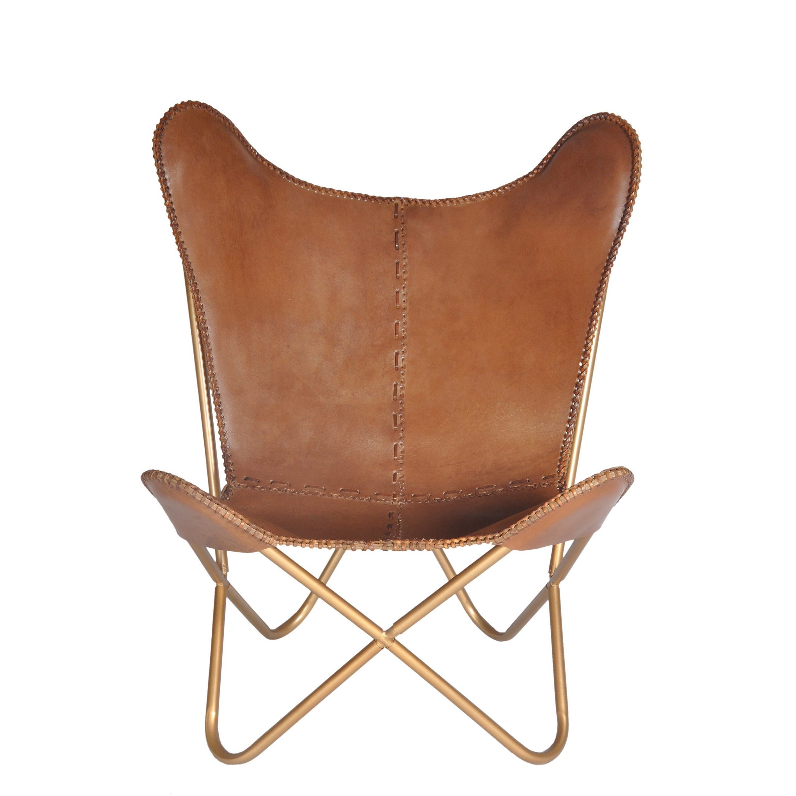 Broadus Genuine Leather Suede Side Chairs Intended For Well Known Brown Leather Accent Chairs You'll Love In (View 4 of 20)