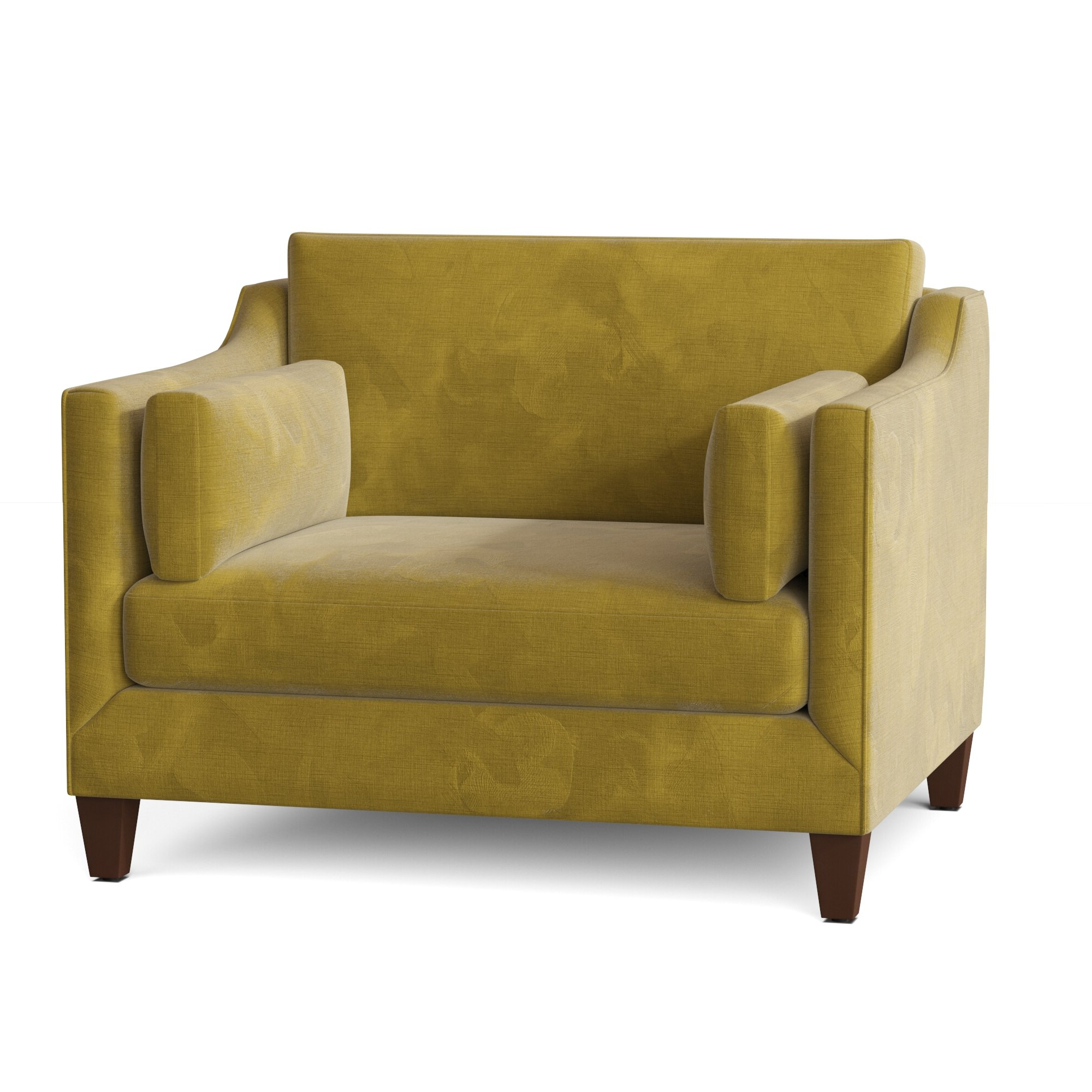 Brookhhurst Avina Armchairs With Best And Newest Chrome & Yellow Accent Chairs You'll Love In (View 19 of 20)