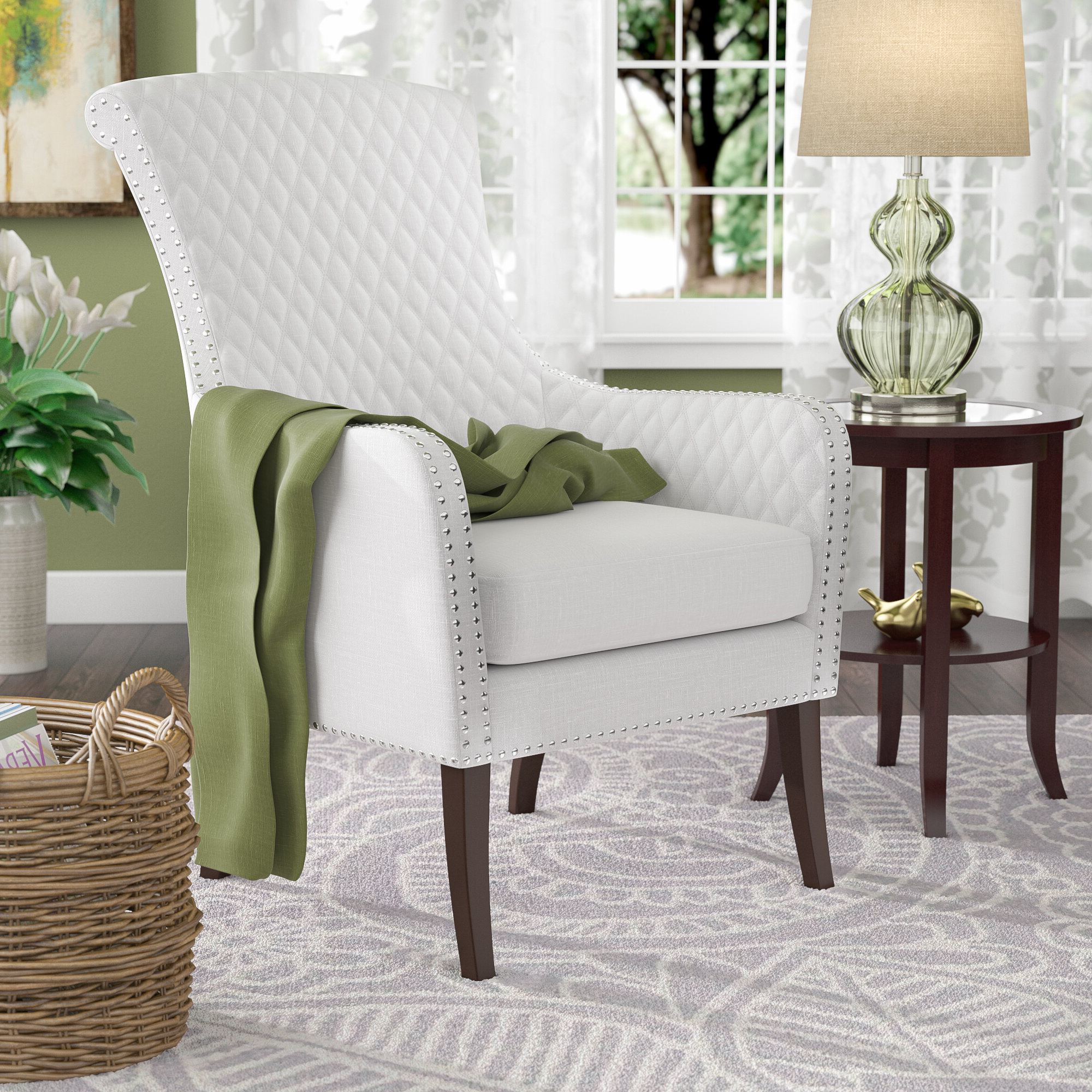 Busti Wingback Chair In Most Popular Busti Wingback Chairs (View 3 of 20)