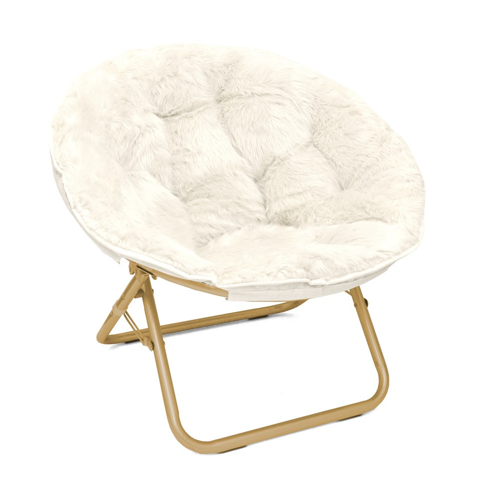 Campton Papasan Chairs With Famous Seventeen Micromink Papasan Chair White (View 3 of 20)
