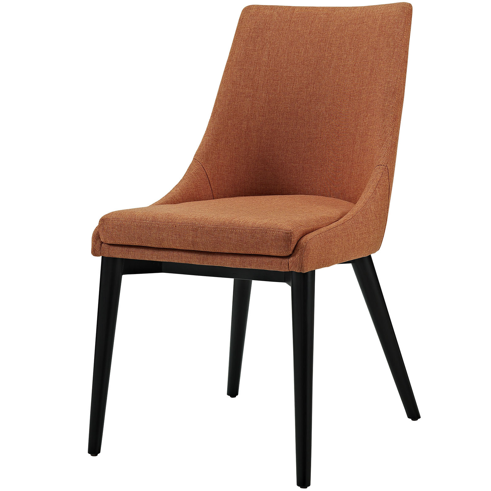 Featured Photo of Carlton Wood Leg Upholstered Dining Chairs