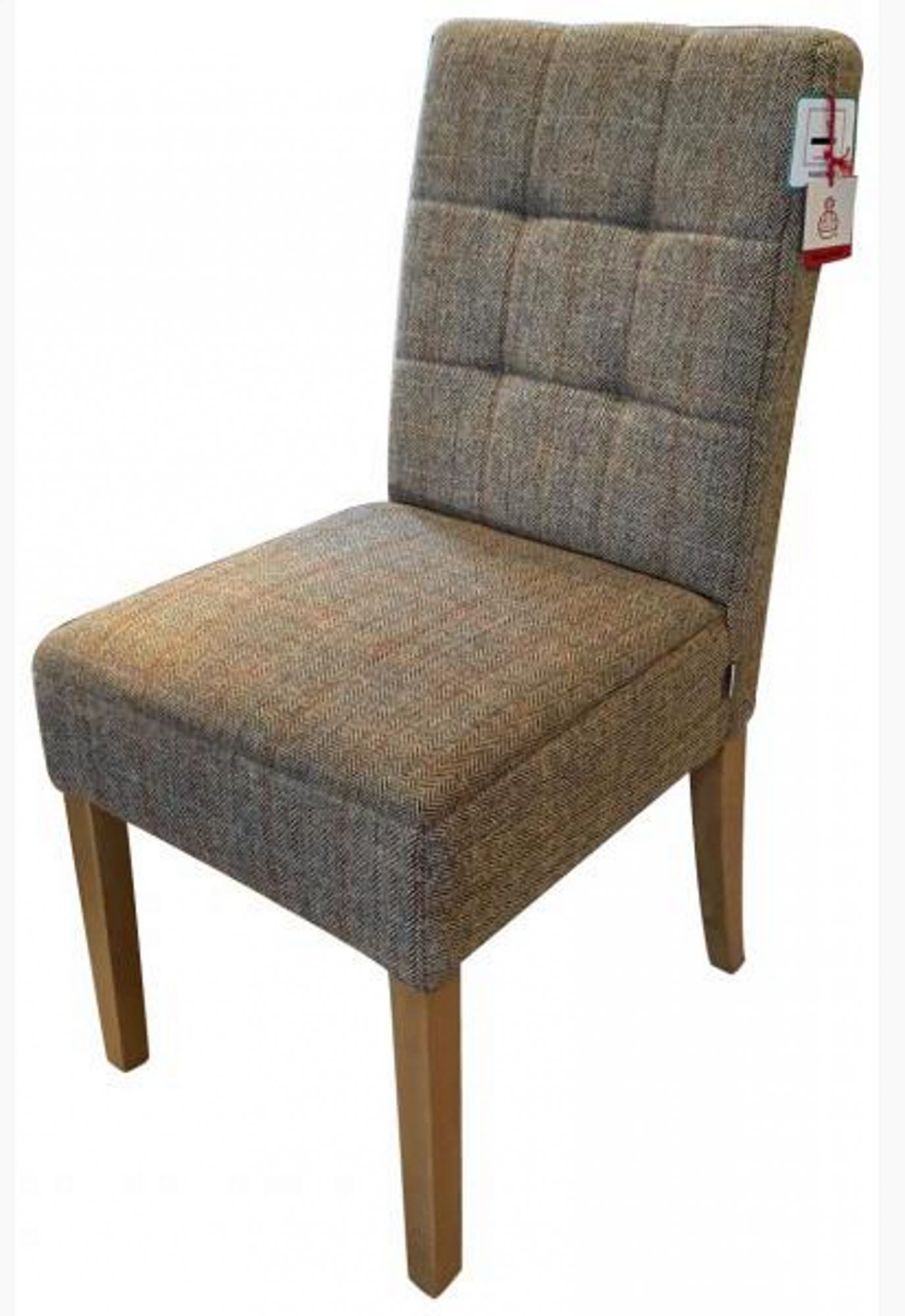 Carlton Wood Leg Upholstered Dining Chairs With Regard To Recent Carlton Furniture Additions Dining Chair Colin In Harris Tweed (View 17 of 20)