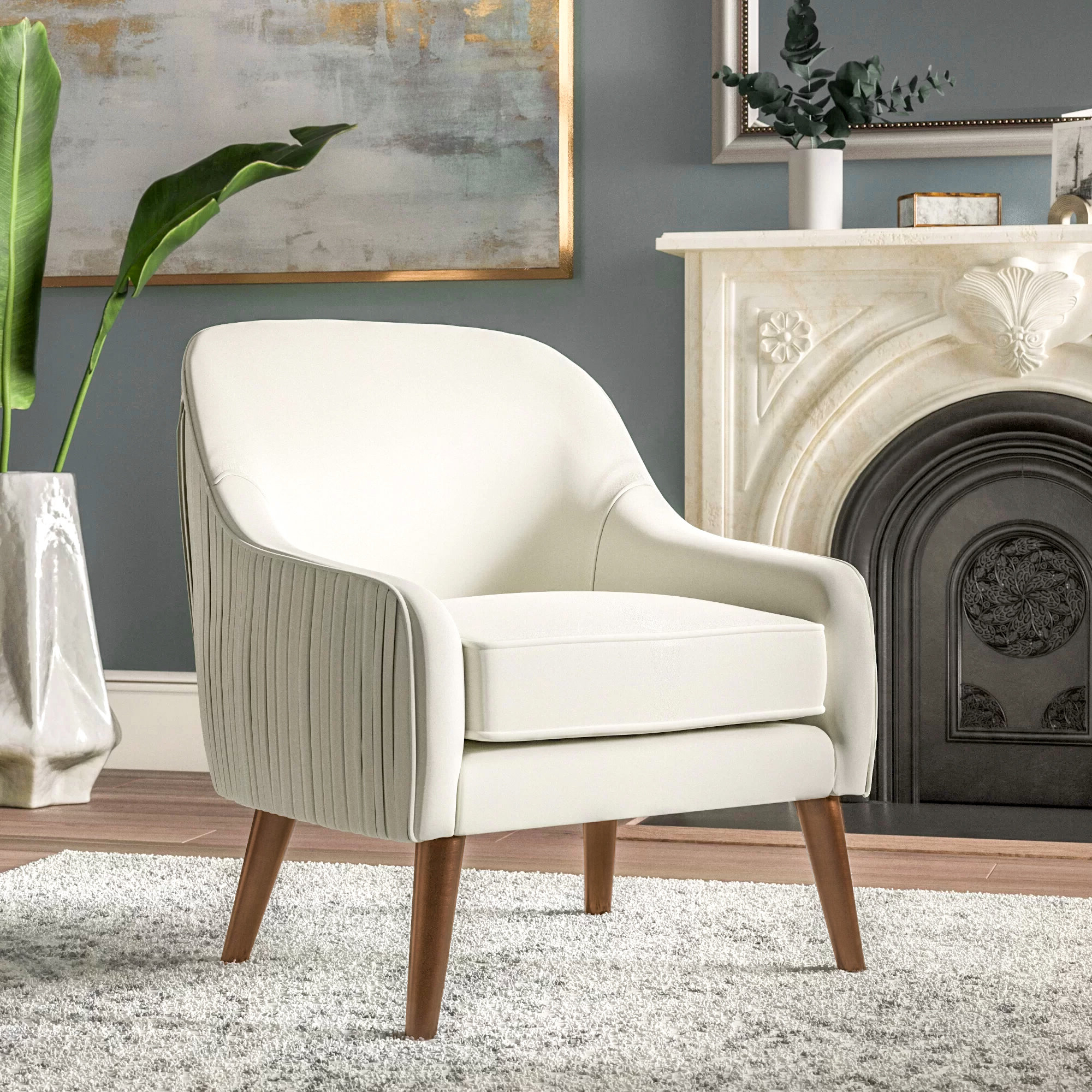 """Celestia 22"""" Armchair Inside Best And Newest Kasha Armchairs (View 16 of 20)"""