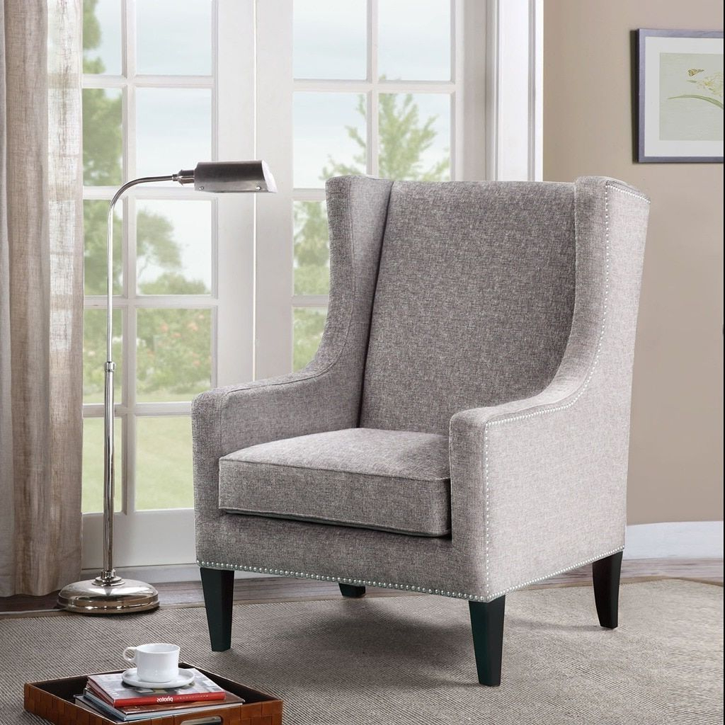 Chagnon Wingback Chairs With Most Up To Date Pin On Furniture (View 7 of 20)