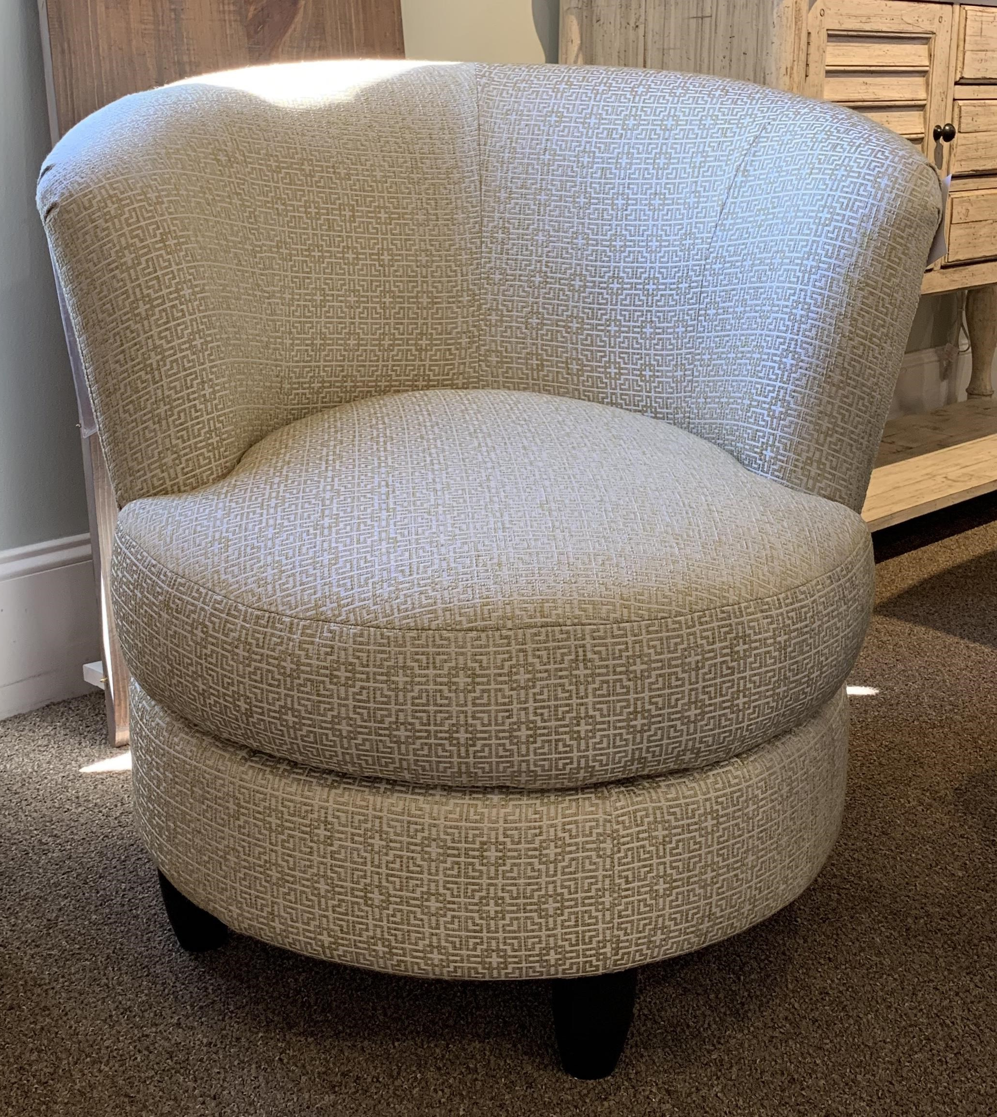 Chairs – Swivel Barrel Palmona Swivel Chair Pertaining To Trendy Louisiana Barrel Chairs And Ottoman (View 14 of 20)