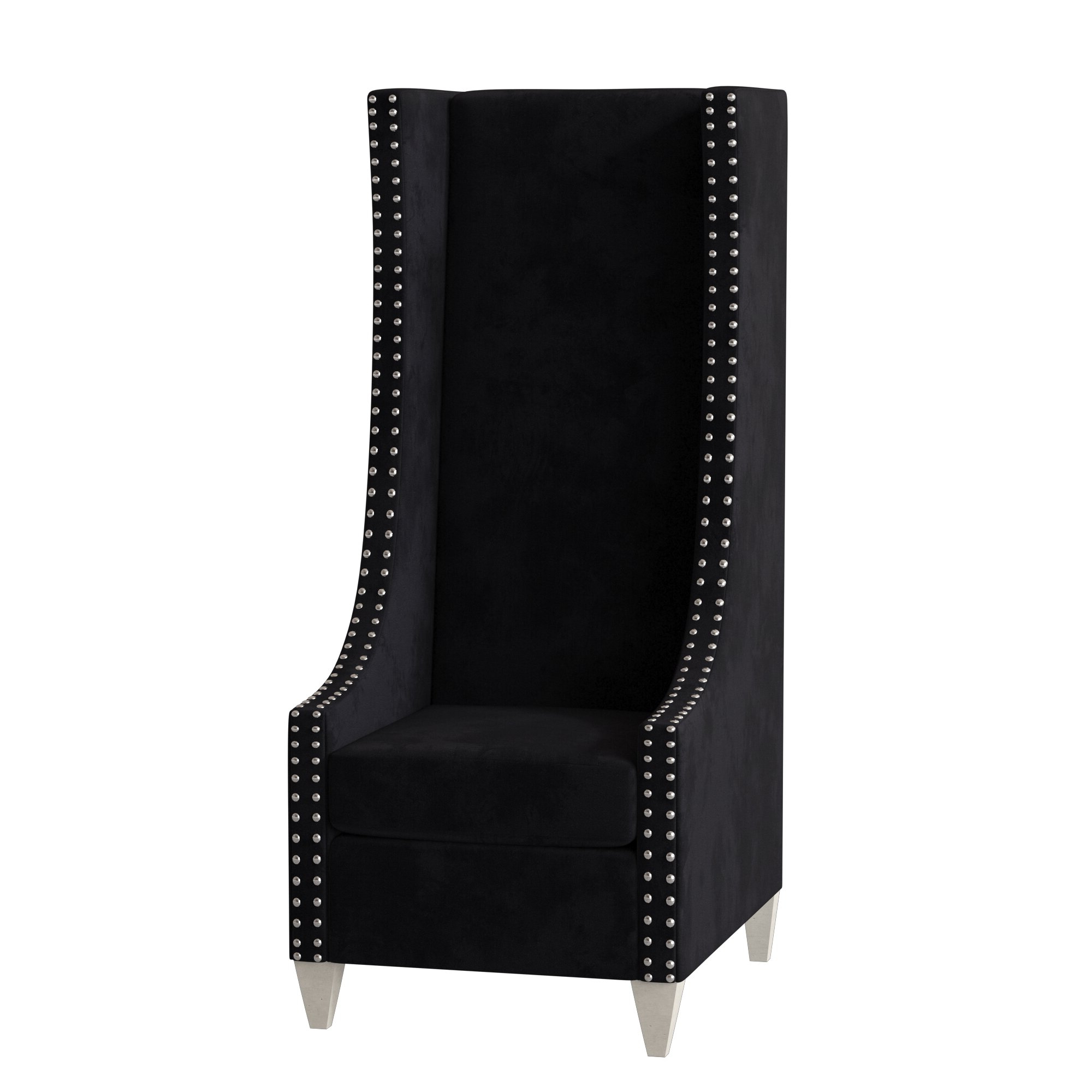 Chenille Wingback Accent Chairs You'll Love In  (View 6 of 20)