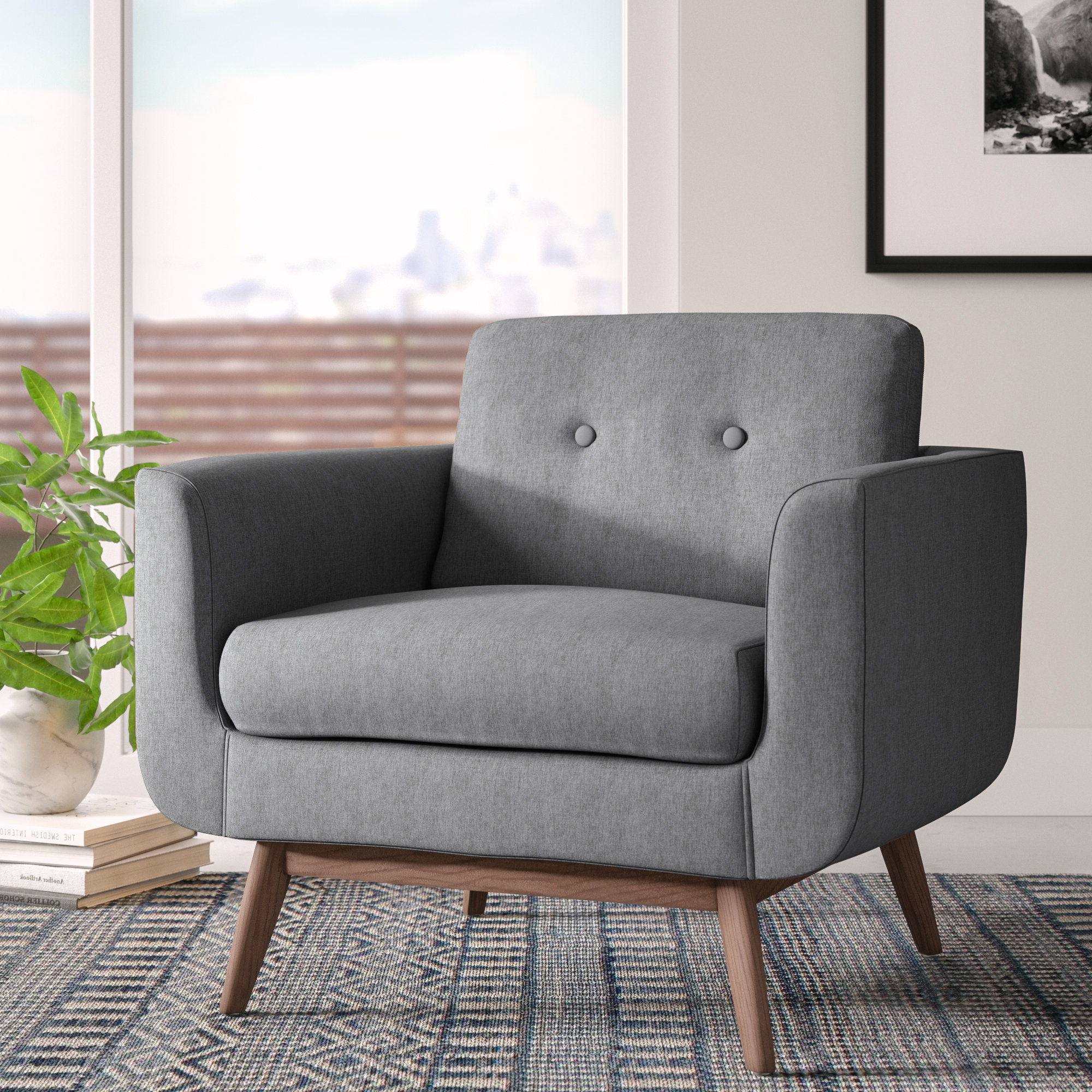 Cheryl Armchair & Reviews (View 9 of 20)