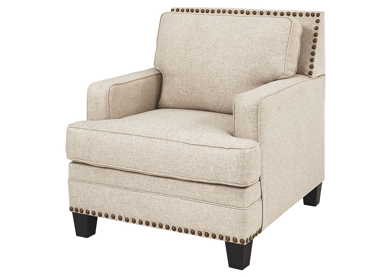 Chiles Linen Side Chairs In Preferred Claredon Linen Chair Ashley Furniture Homestore Singapore (View 15 of 20)