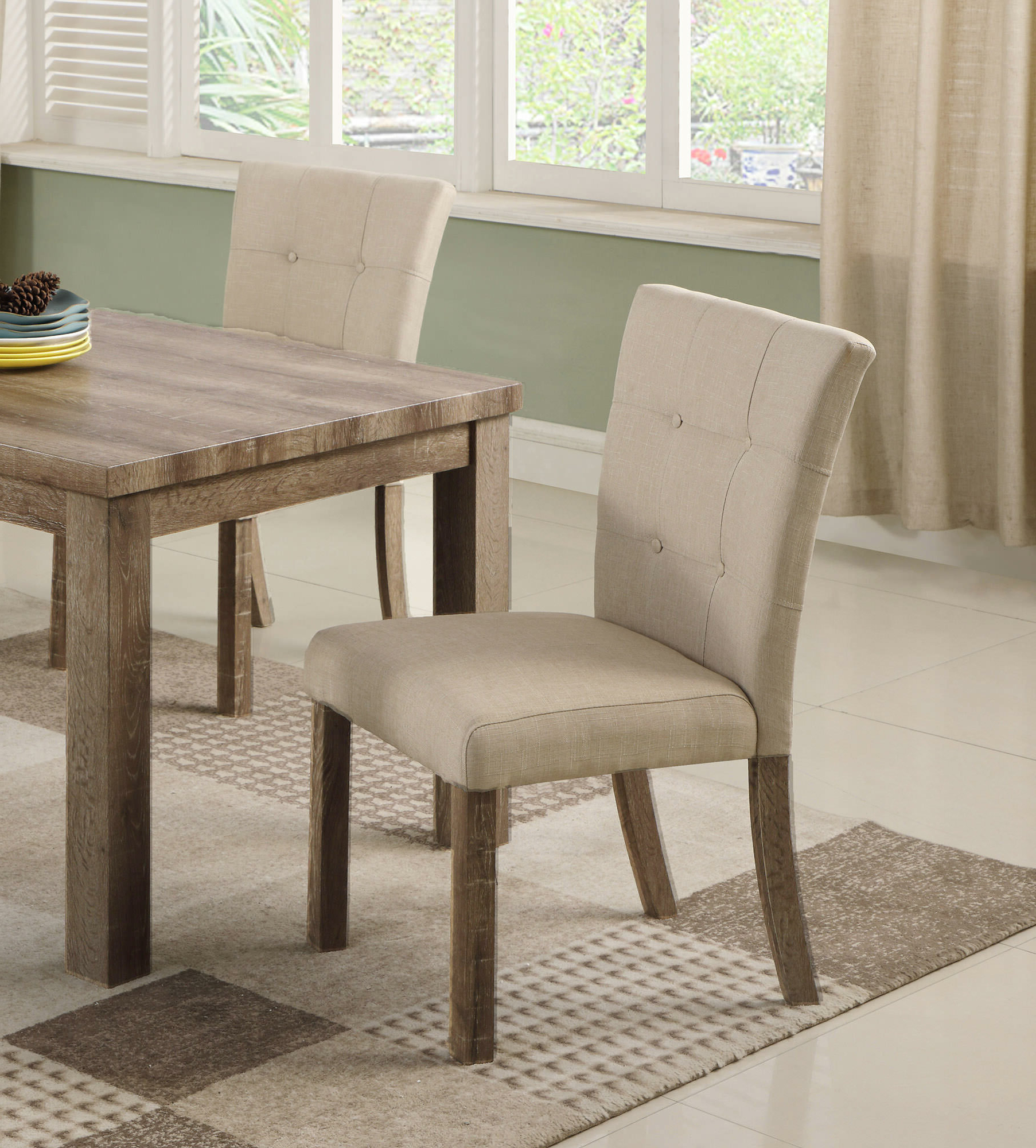 Clanton Upholstered Dining Chair Regarding 2019 Aaliyah Parsons Chairs (View 16 of 20)
