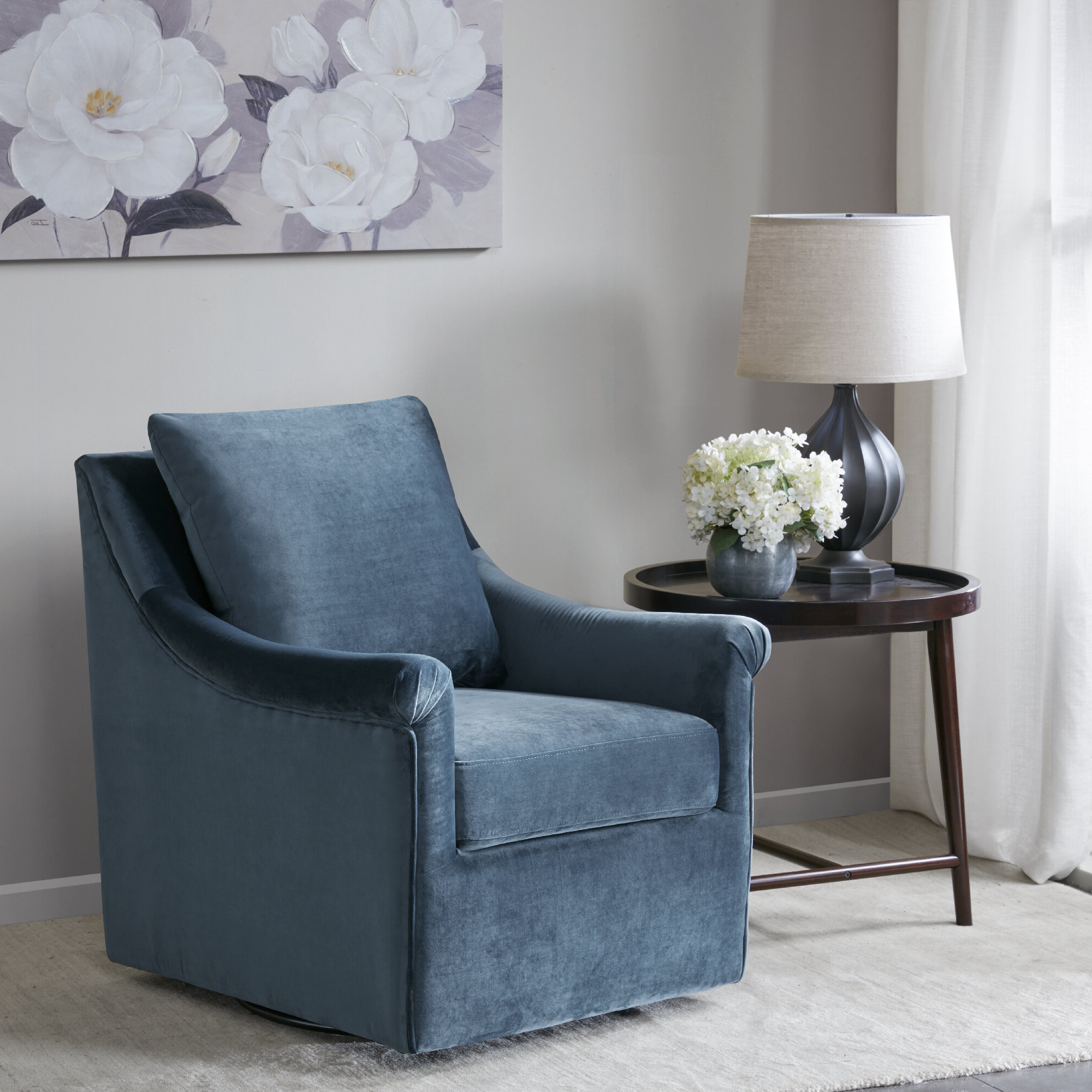 Cohutta Armchairs For Newest Lundell Swivel Armchair (View 7 of 20)