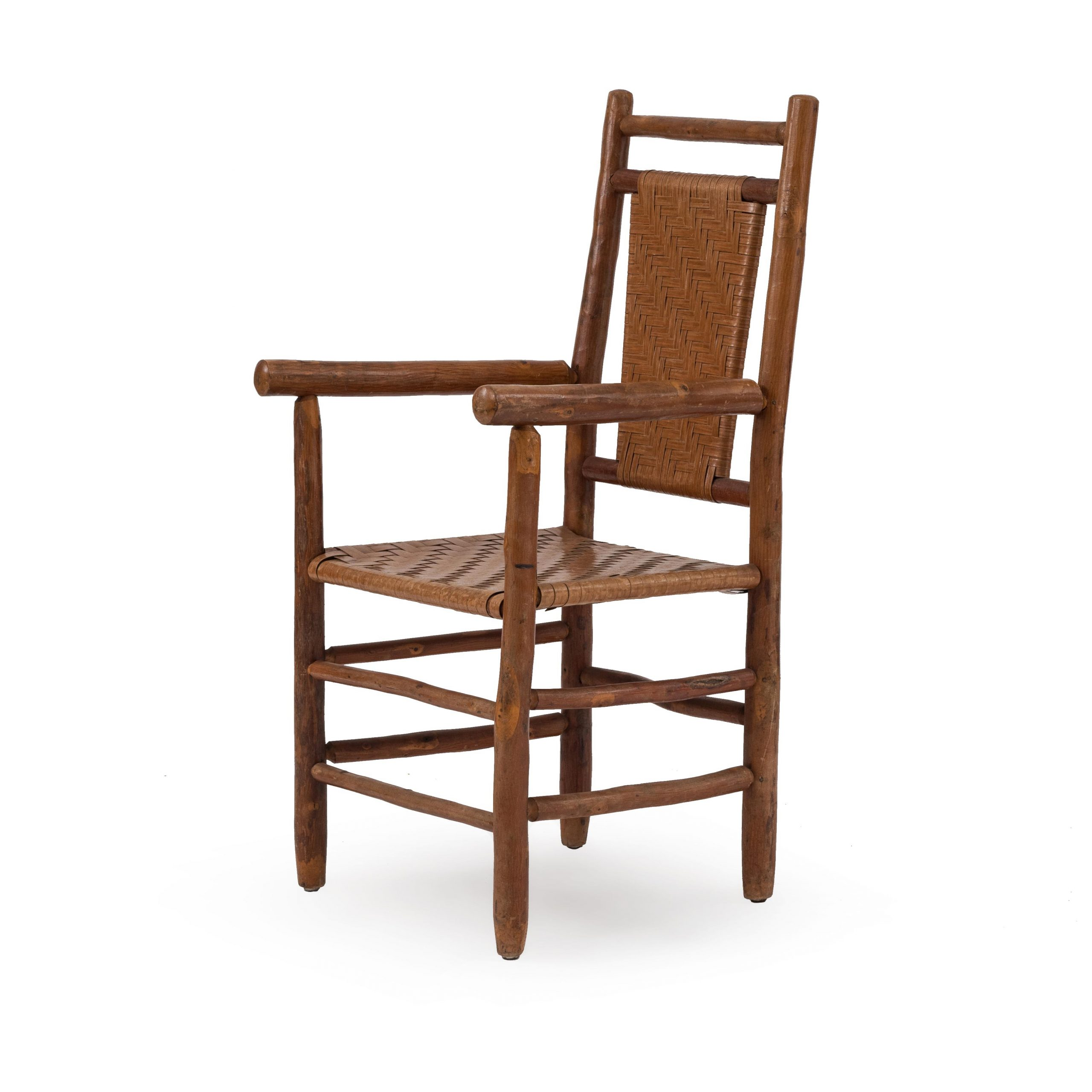 Columbus Armchairs Throughout Newest Rustic Old Hickory Arm Chair (View 10 of 20)