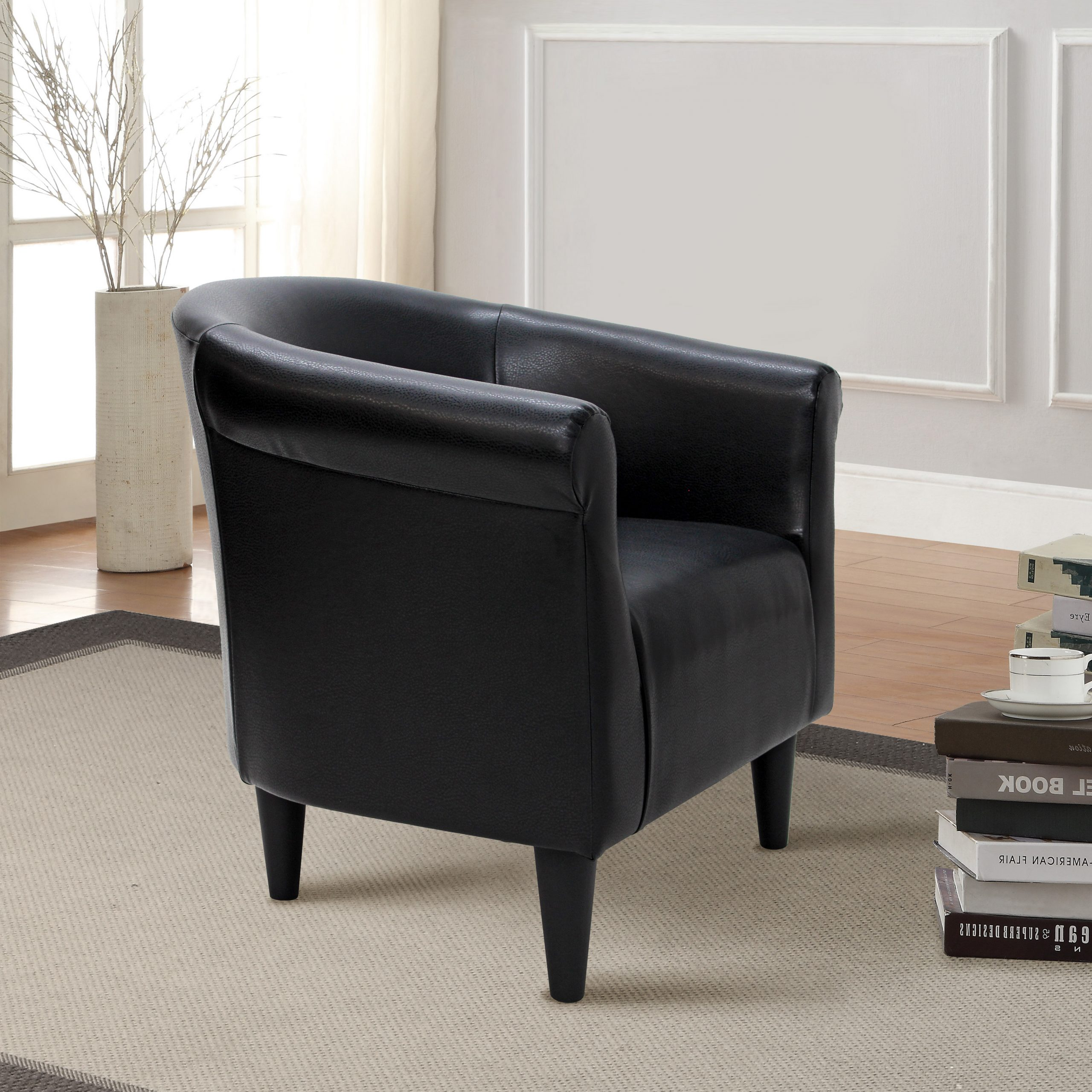 Current Barrel Black Accent Chairs You'll Love In (View 13 of 20)