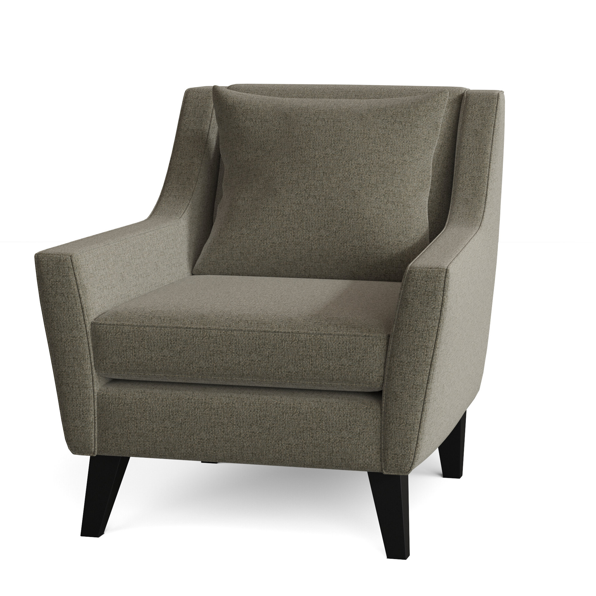 Current Brookhhurst Avina Armchairs With Regard To Black Chrome Accent Chairs You'll Love In (View 10 of 20)