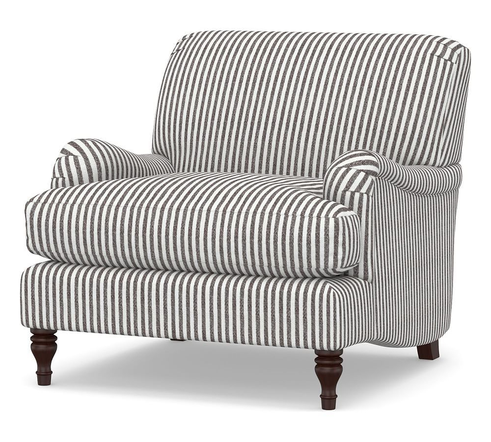 Current Leppert Armchairs Intended For Carlisle Upholstered Tightback Armchair In (View 18 of 20)