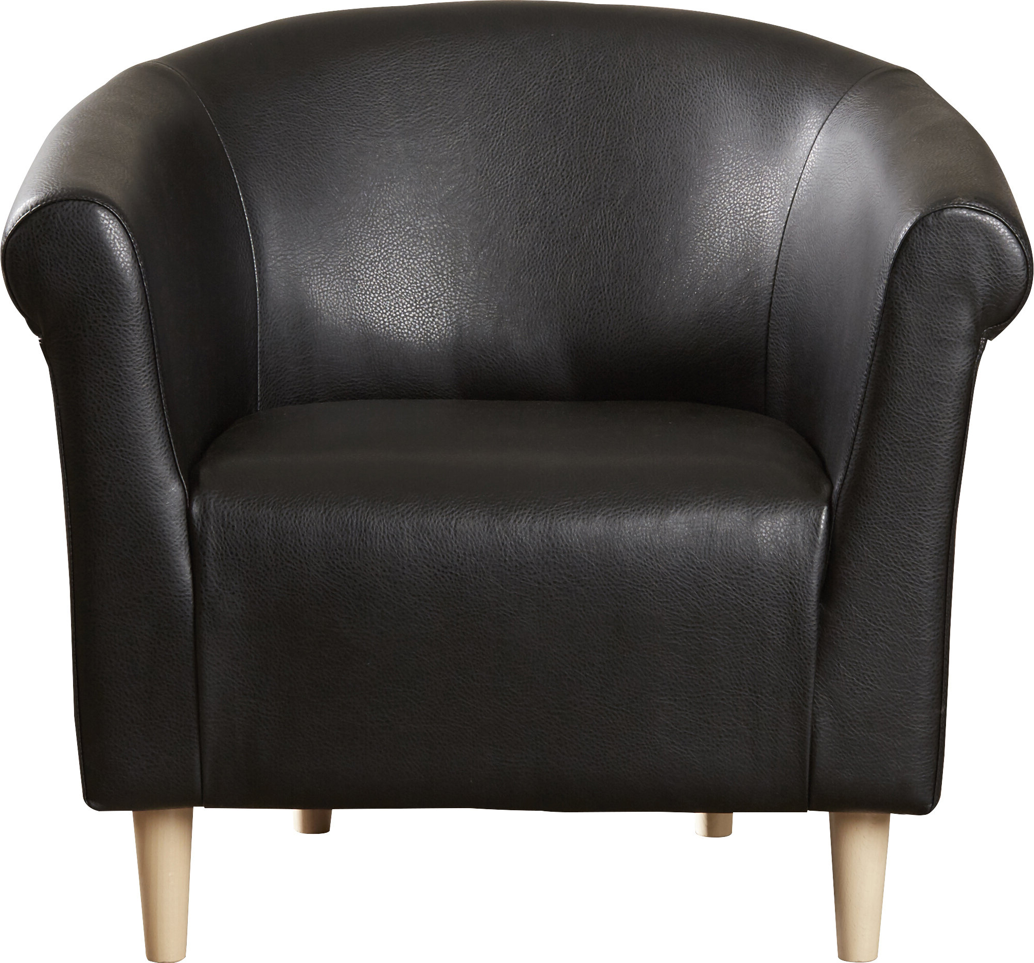 Featured Photo of Liam Faux Leather Barrel Chairs