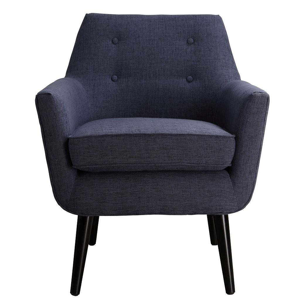 Current Sadie Navy Linen Chair With Navin Barrel Chairs (View 11 of 20)