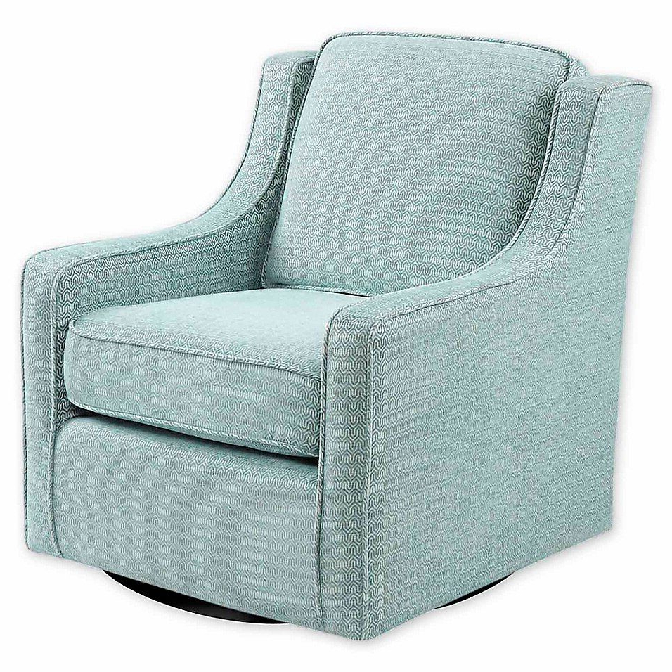 Current Vineland Polyester Swivel Armchairs Throughout Madison Park™ Polyester Swivel Harris Chair (View 9 of 20)