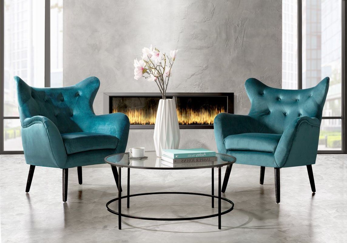 Current Willa Arlo Interiors Bouck Wingback Chair & Reviews Intended For Bouck Wingback Chairs (View 7 of 20)