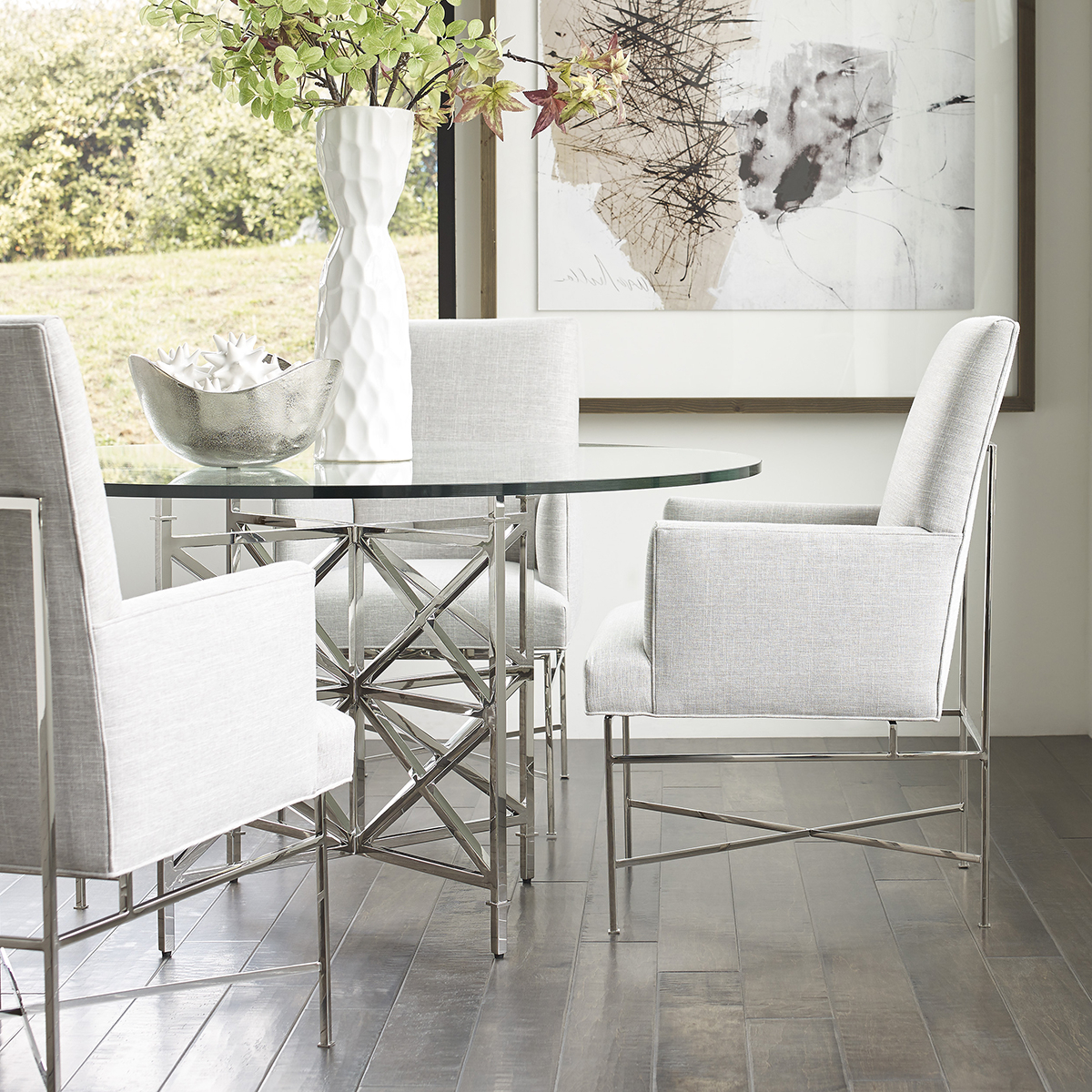 Custom Dining – Vanguard Furniture Intended For Preferred Armory Fabric Armchairs (View 18 of 20)