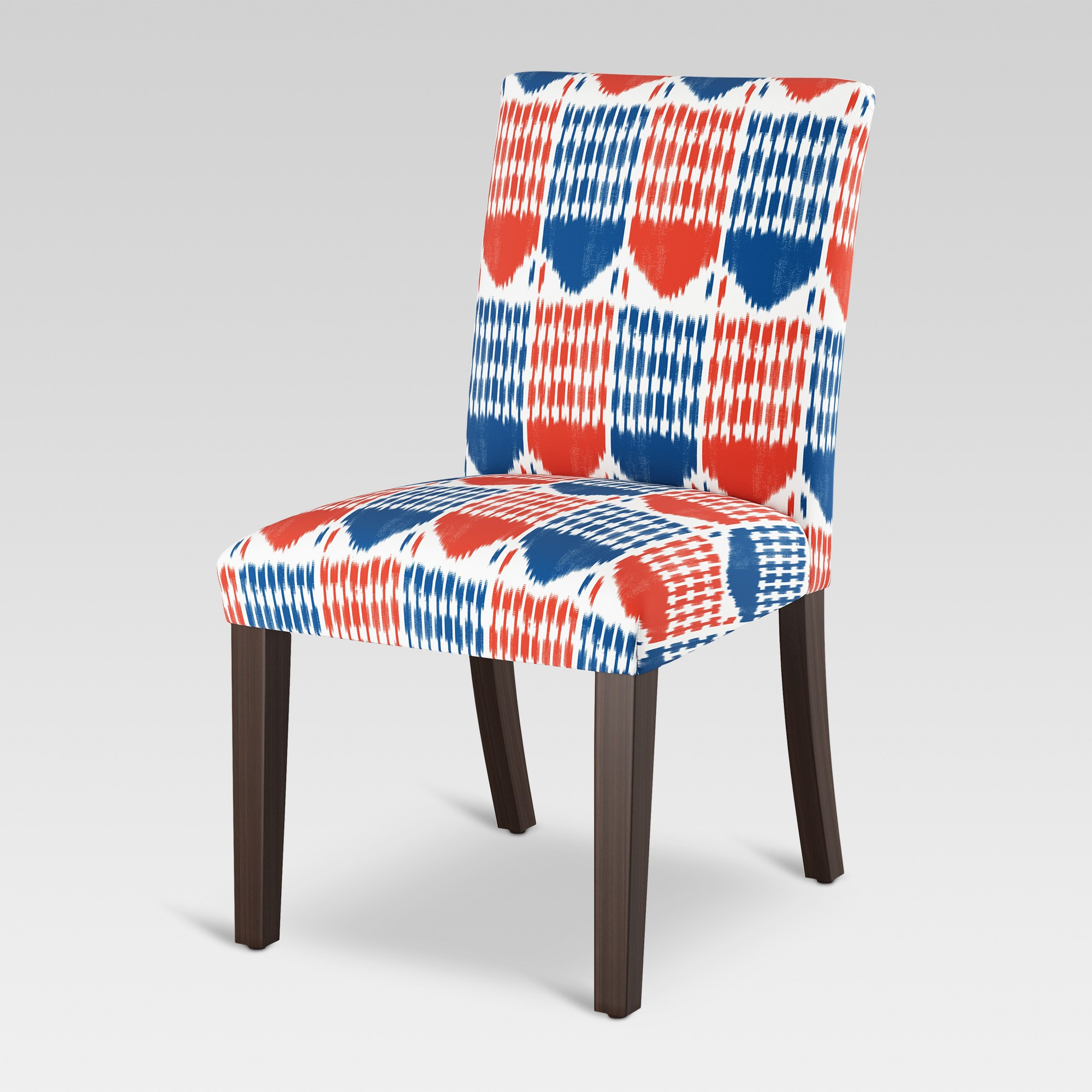 Daleyza Slipper Chairs In Favorite Parsons Dining Chair Ikat Blue/red – Threshold – Target (View 14 of 20)