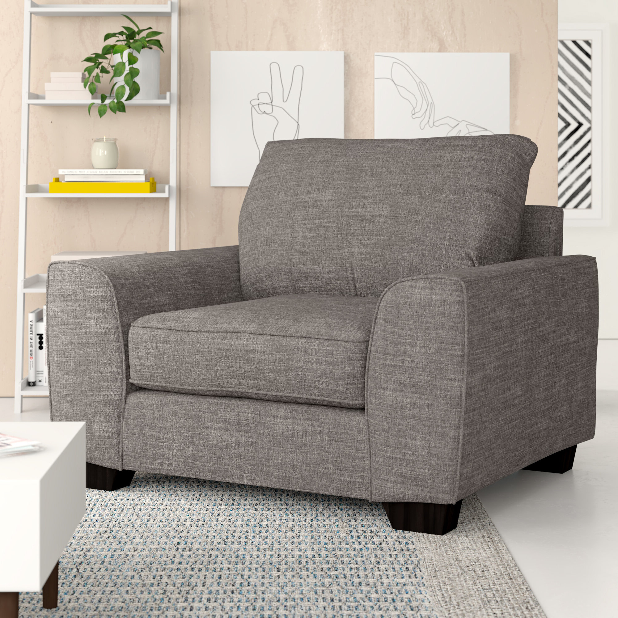 Dallin Arm Chairs With Trendy Dallin Armchair (View 2 of 20)
