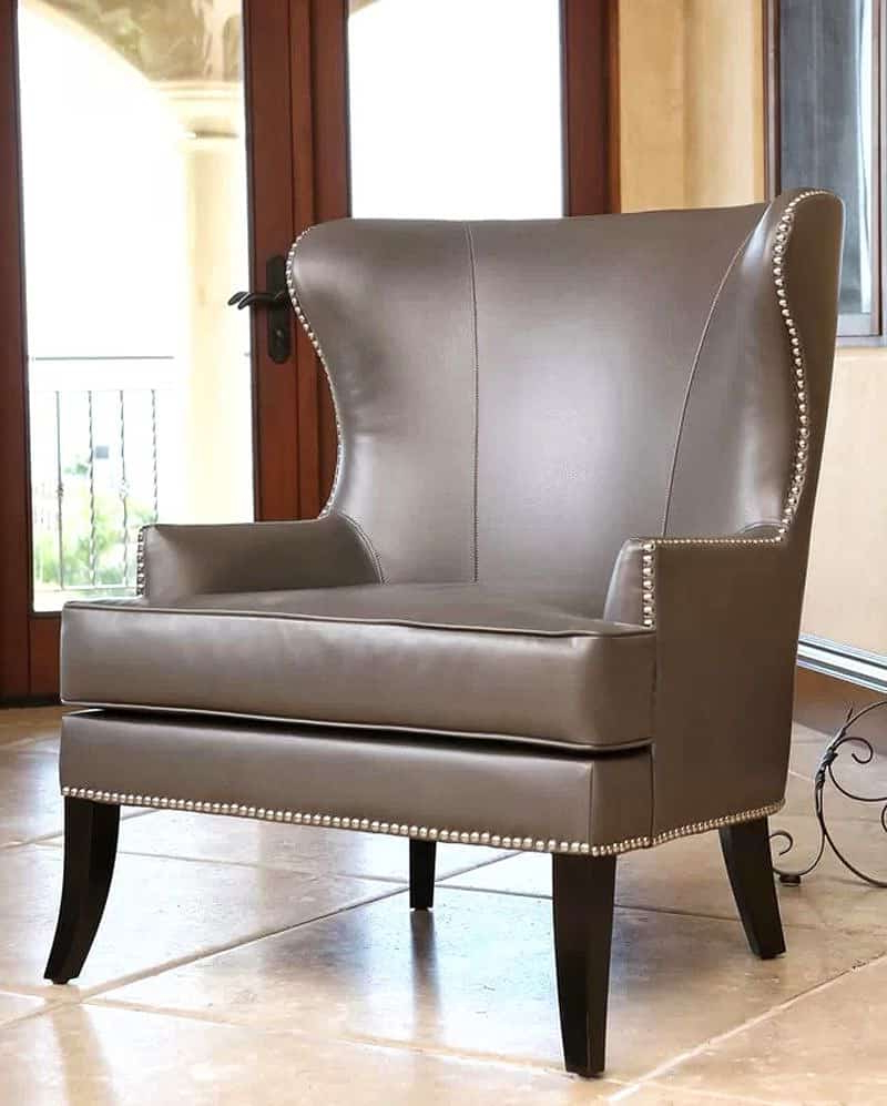 Décor Outline With Saige Wingback Chairs (View 8 of 20)