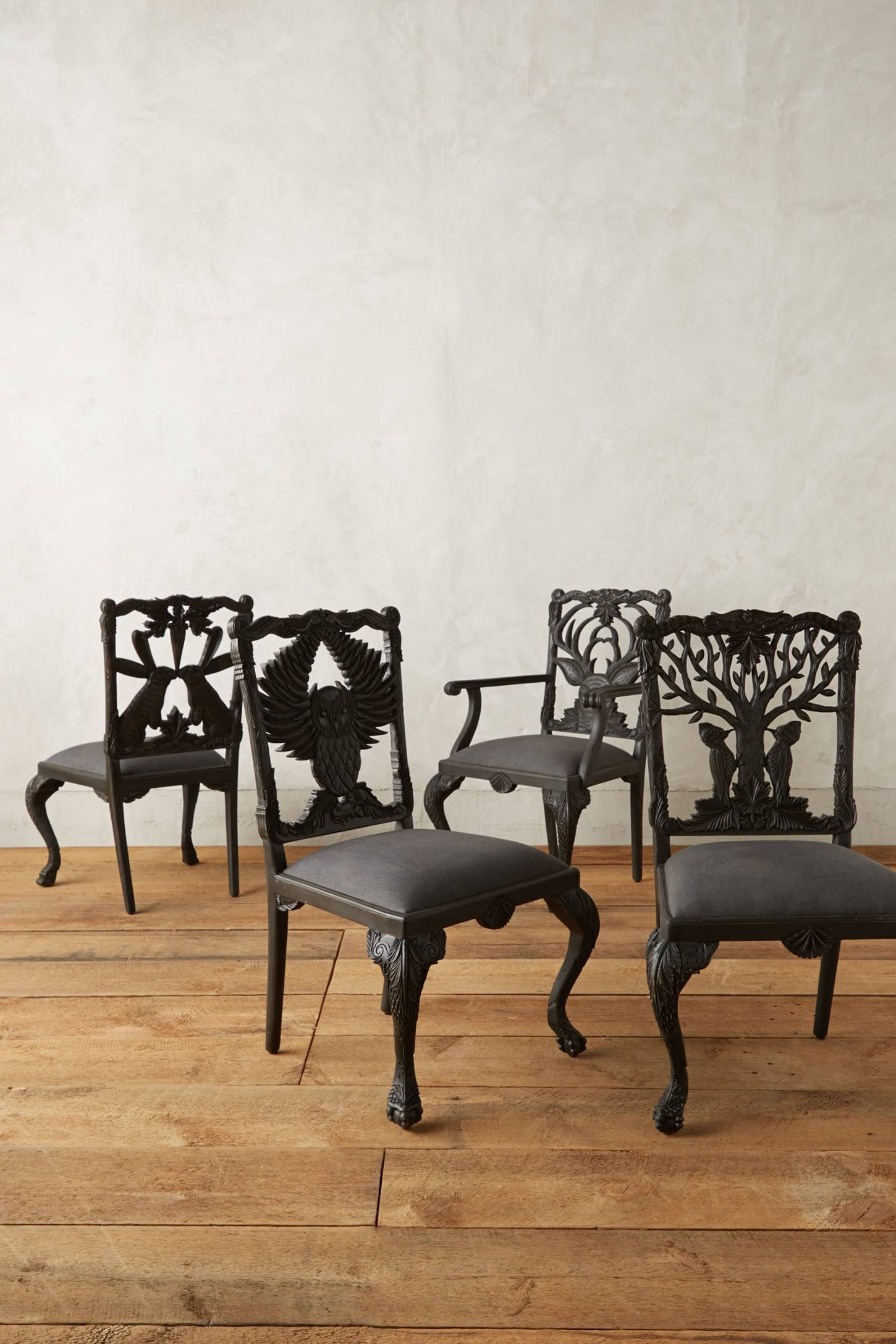 Deer Trail Armchairs Intended For Newest Handcarved Menagerie Deer Armchair (View 8 of 20)