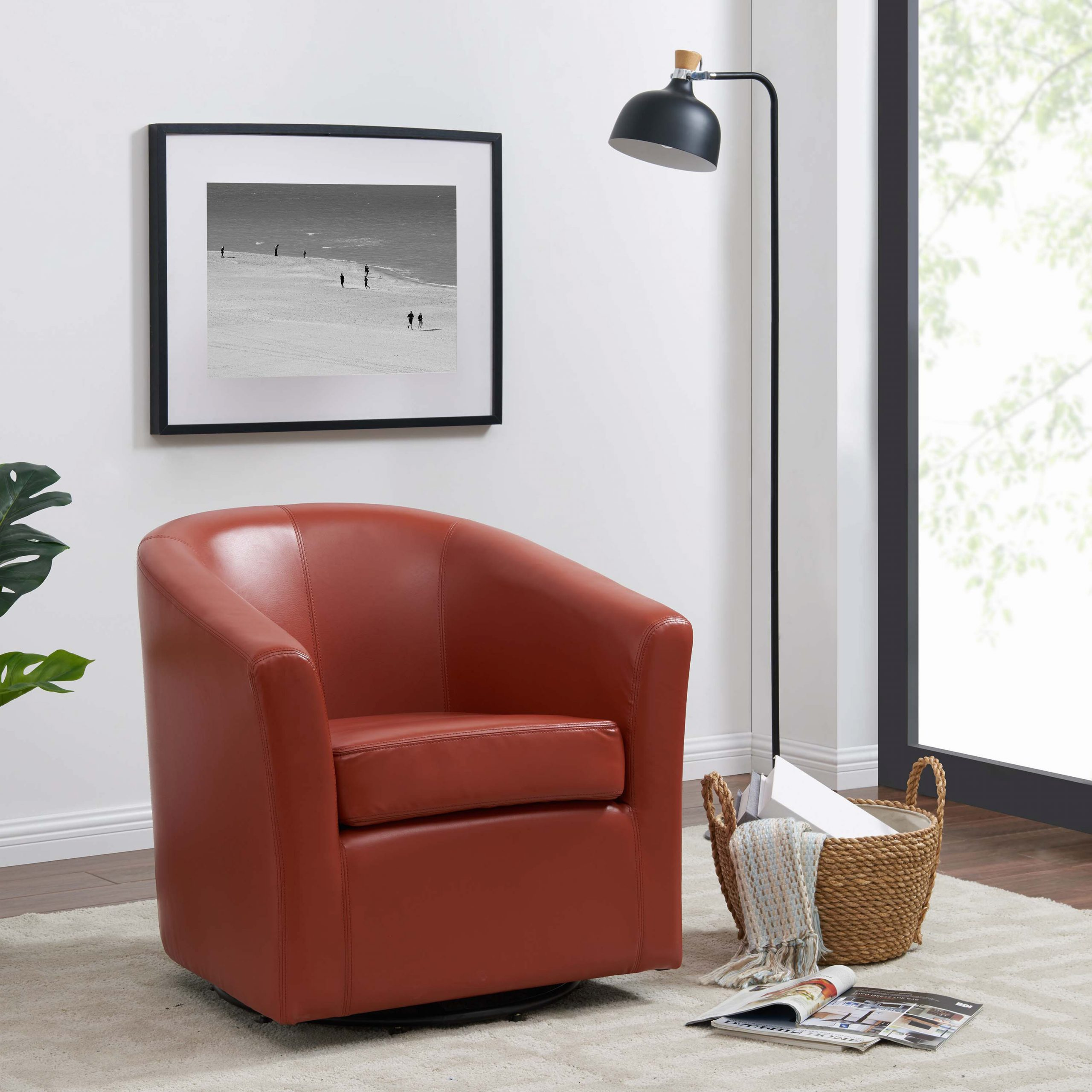 Dorcaster Barrel Chairs With Well Known Harmon Cloud Barrel Chair And Ottoman (View 17 of 20)