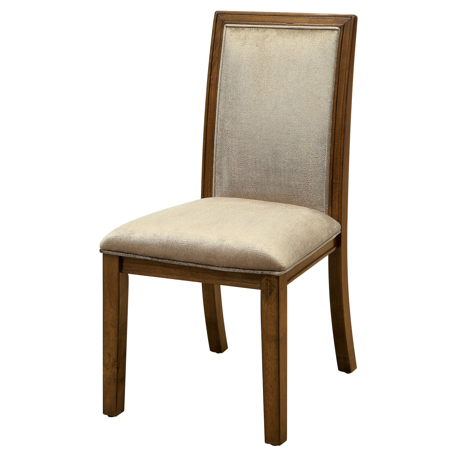 Erasmus Side Chairs Regarding Well Known Furniture Of America Erasmus Dining Chair – Set Of (View 14 of 20)
