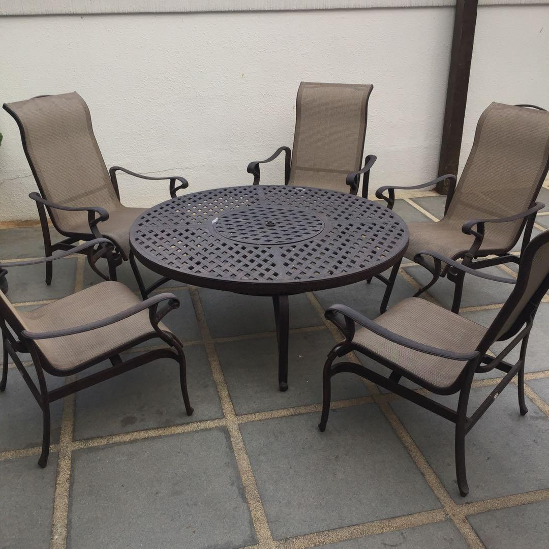Esmund Side Chairs (set Of 2) For Widely Used Outdoor Table With Bbq Set And Chairs, Furniture, Tables (View 19 of 20)