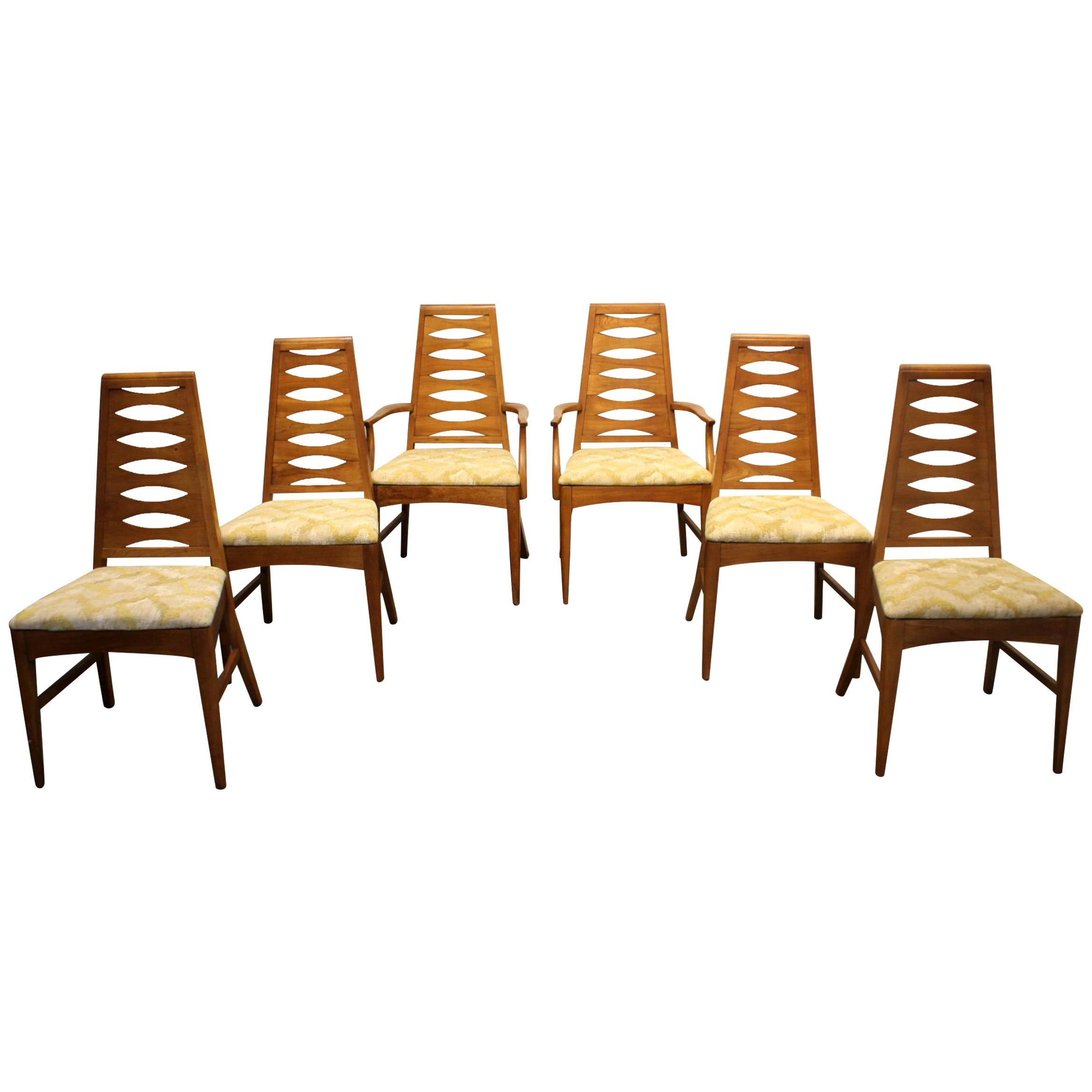 Esmund Side Chairs (set Of 2) In 2020 Mid Century Modern Brasilia Style Dining Chairsyoung Mfg (View 10 of 20)