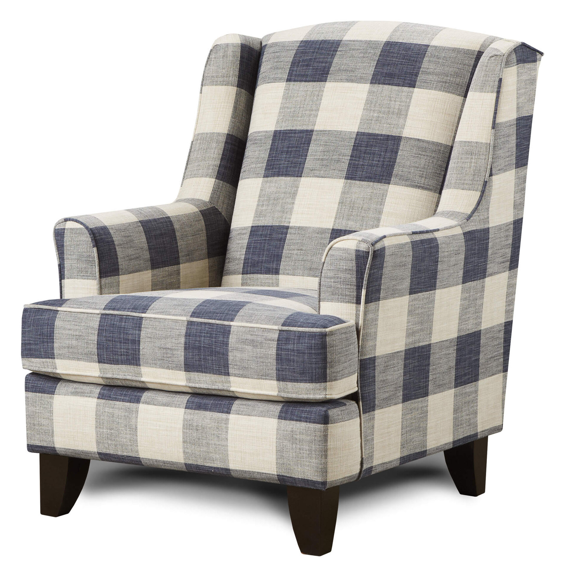 Espresso Wood Wingback Accent Chairs You'll Love In 2021 Pertaining To Most Recently Released Waterton Wingback Chairs (View 13 of 20)