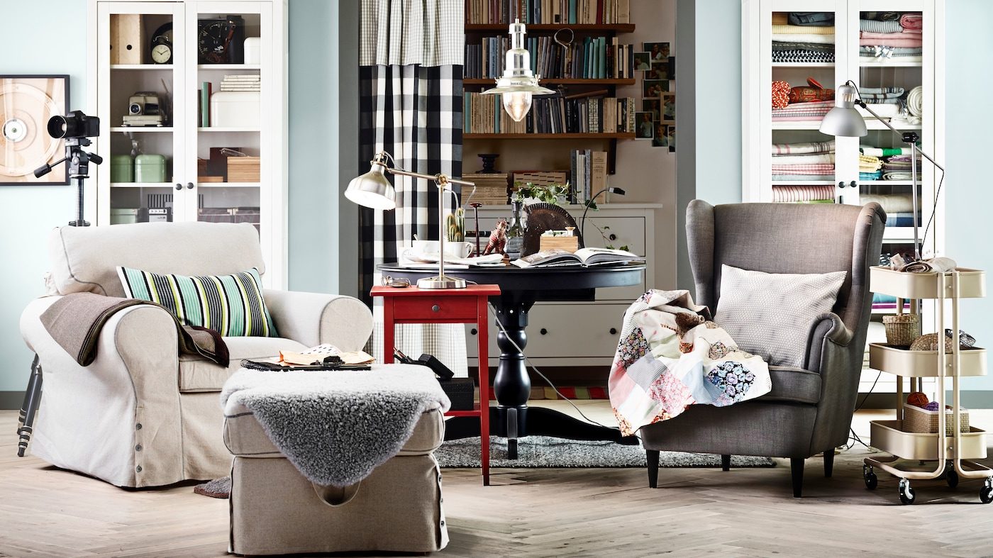 Fabric Armchairs – Ikea Intended For Widely Used Boyden Armchairs (View 13 of 20)