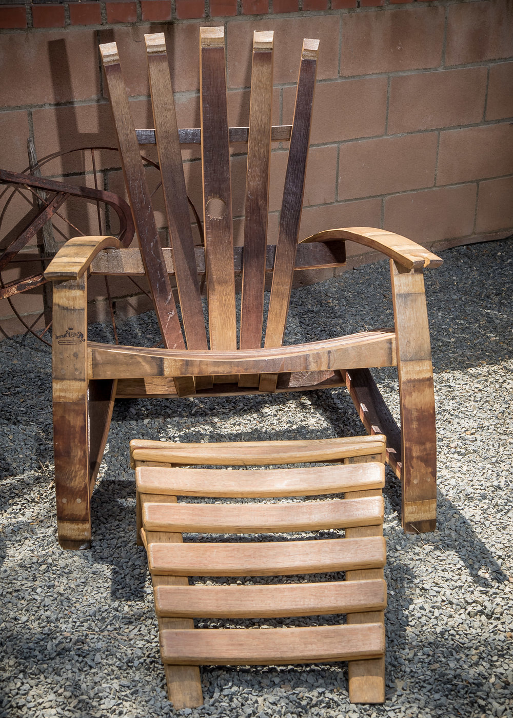 Famous Briseno Barrel Chairs For Take Home A Piece Of Wine Country With King Barrel Of Old (View 19 of 20)