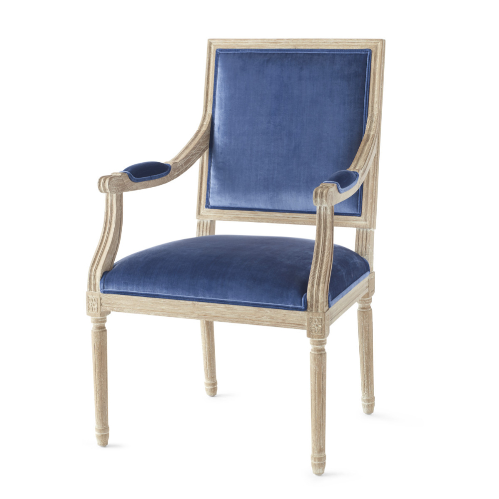 Famous Chateau Fabric Back Arm Chair (View 15 of 20)