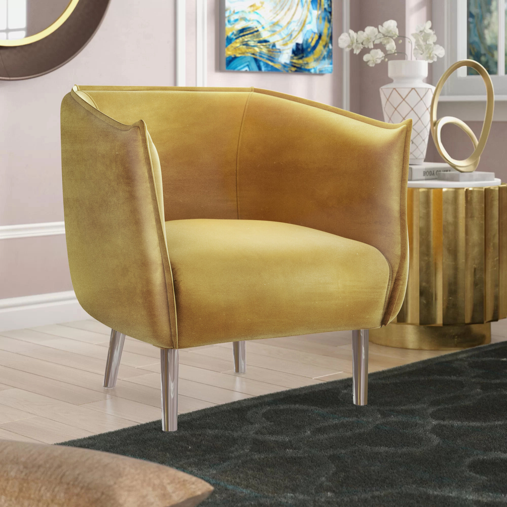Famous Giguere Barrel Chairs For Bentonville (View 10 of 20)