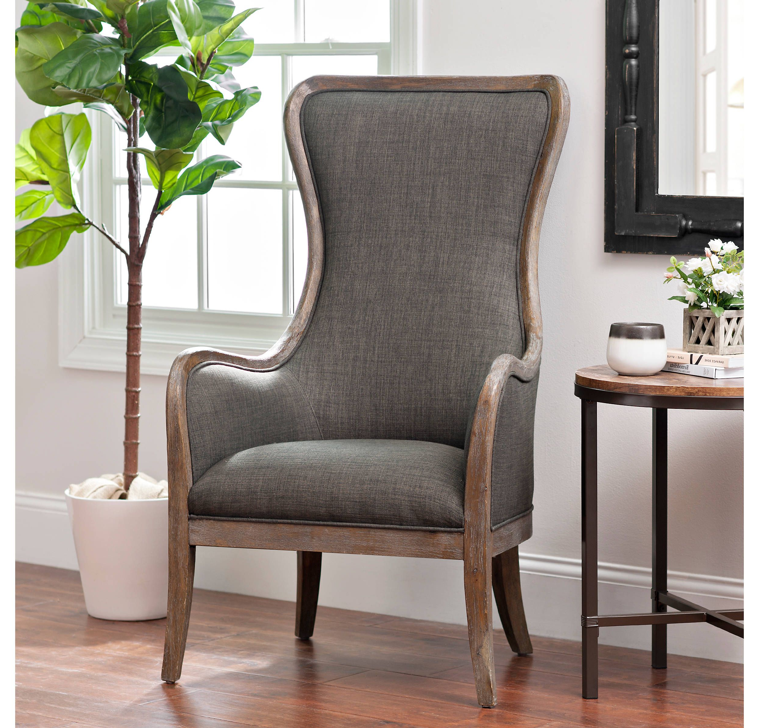 Famous Pin On Furniture – Etc Intended For Busti Wingback Chairs (View 18 of 20)