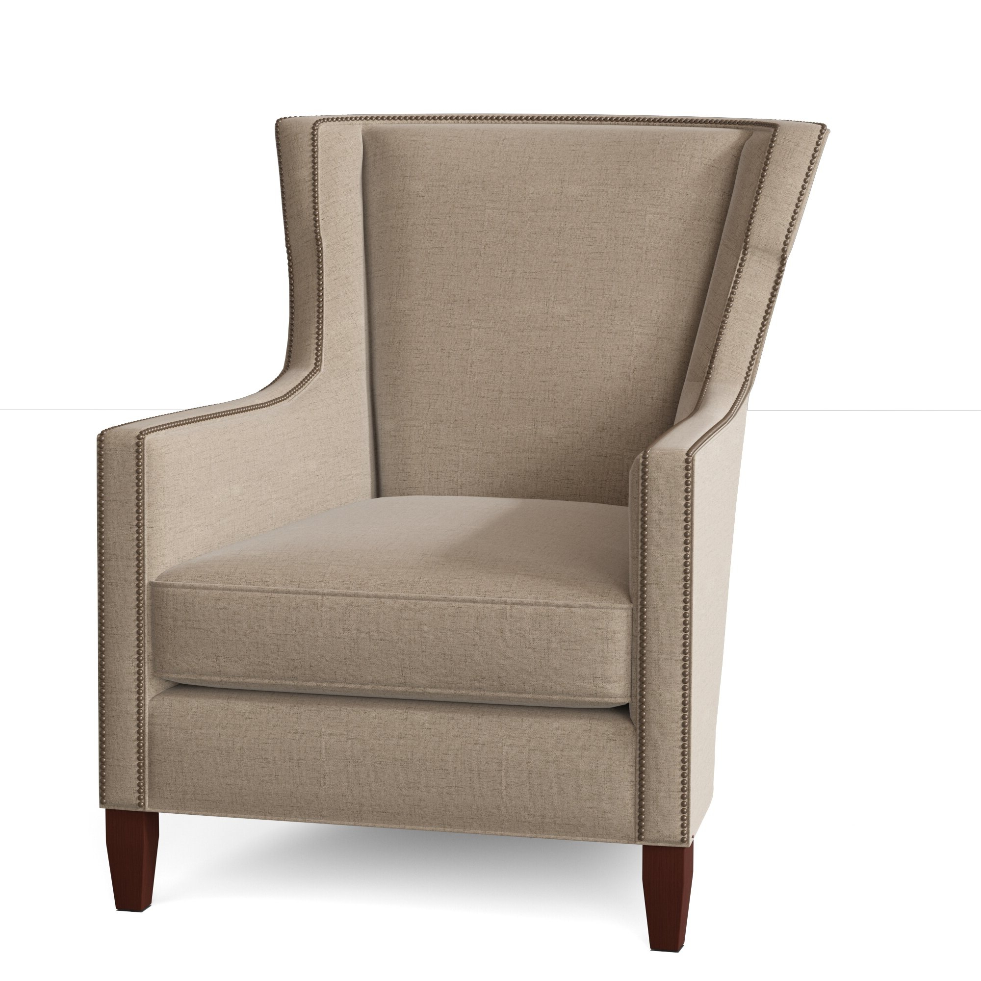 Famous Verbena Wingback Chair Intended For Sweetwater Wingback Chairs (View 9 of 20)