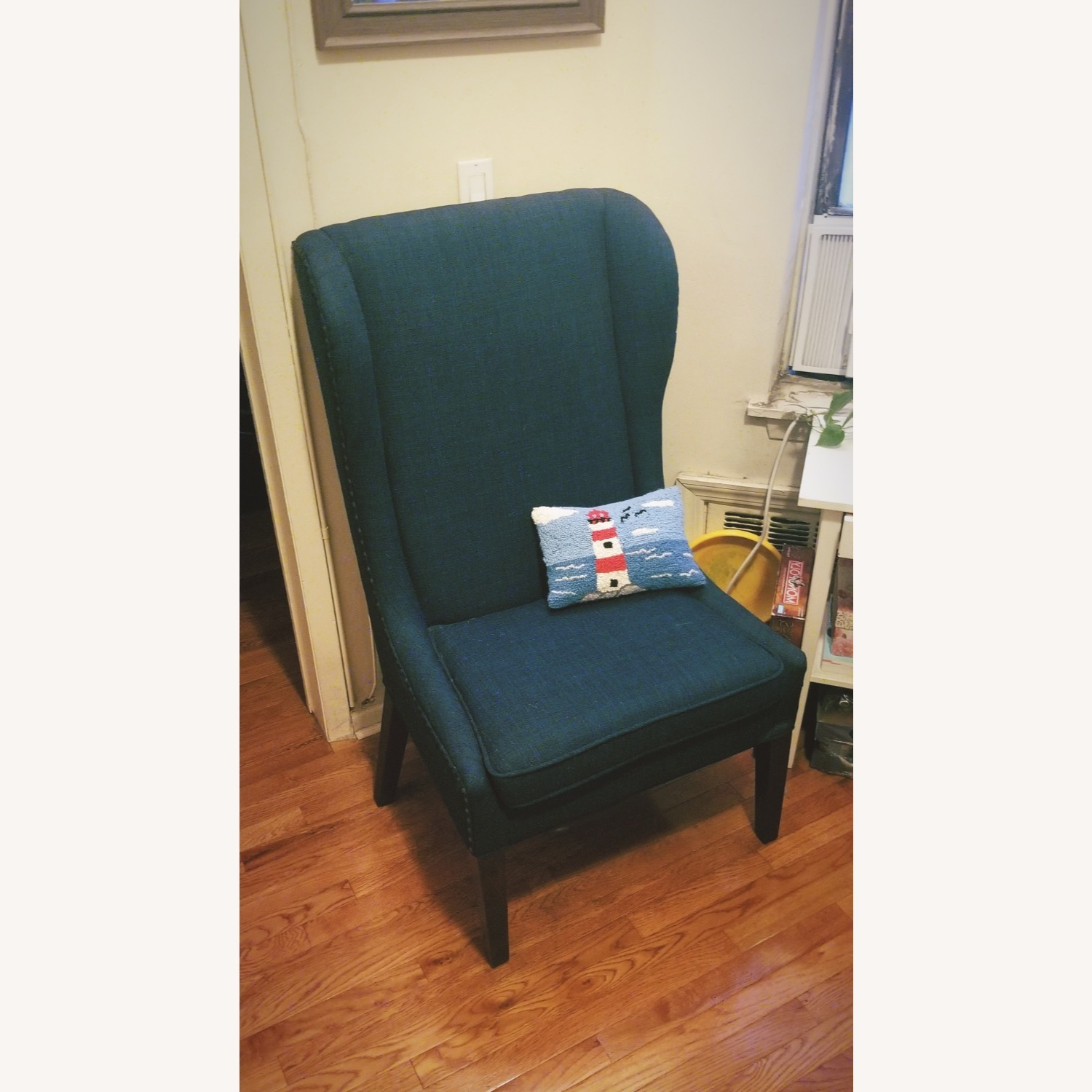 Famous Wayfair Andover Wingback Navy Chair In Andover Wingback Chairs (View 19 of 20)