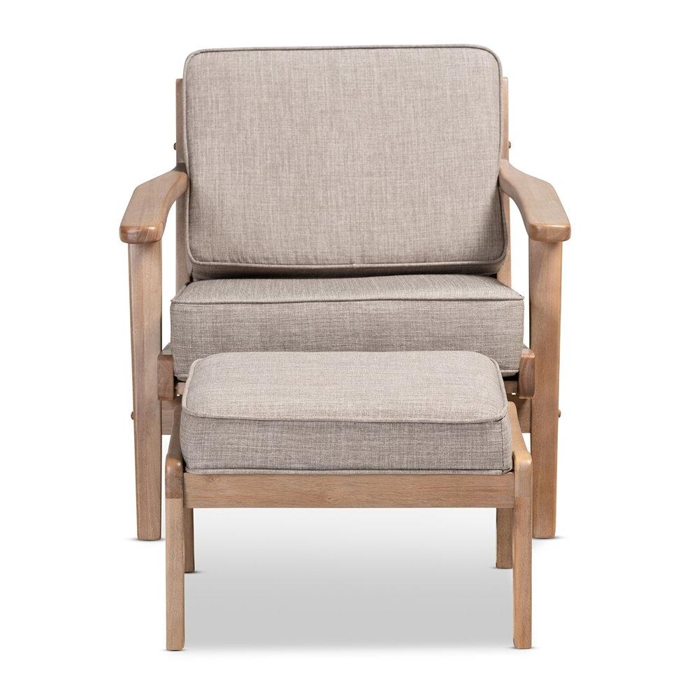 Fashionable Akimitsu Barrel Chair And Ottoman Sets With Malmesbury Lounge Chair And Ottoman (View 6 of 20)