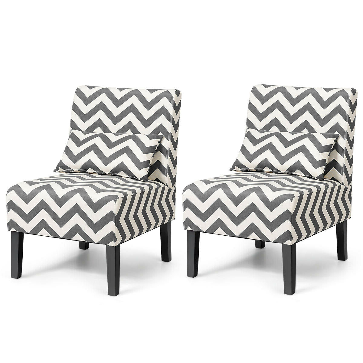 Fashionable Alush Accent Slipper Chairs (set Of 2) For Modern & Contemporary Slipper Accent Chairs You'll Love In (View 5 of 20)