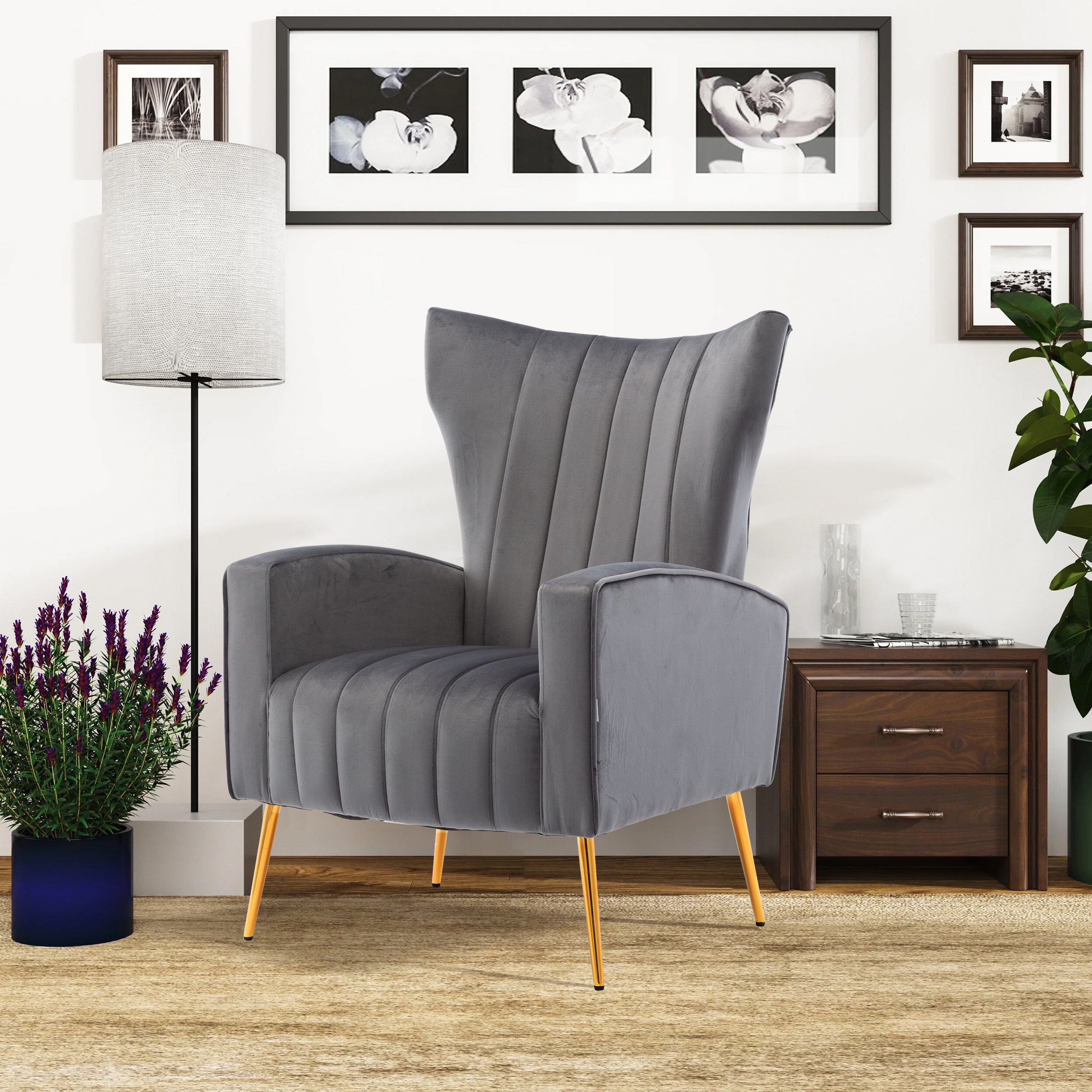 Fashionable Artemi Barrel Chair And Ottoman Sets Intended For Artemis Knitted Armchair (View 6 of 20)