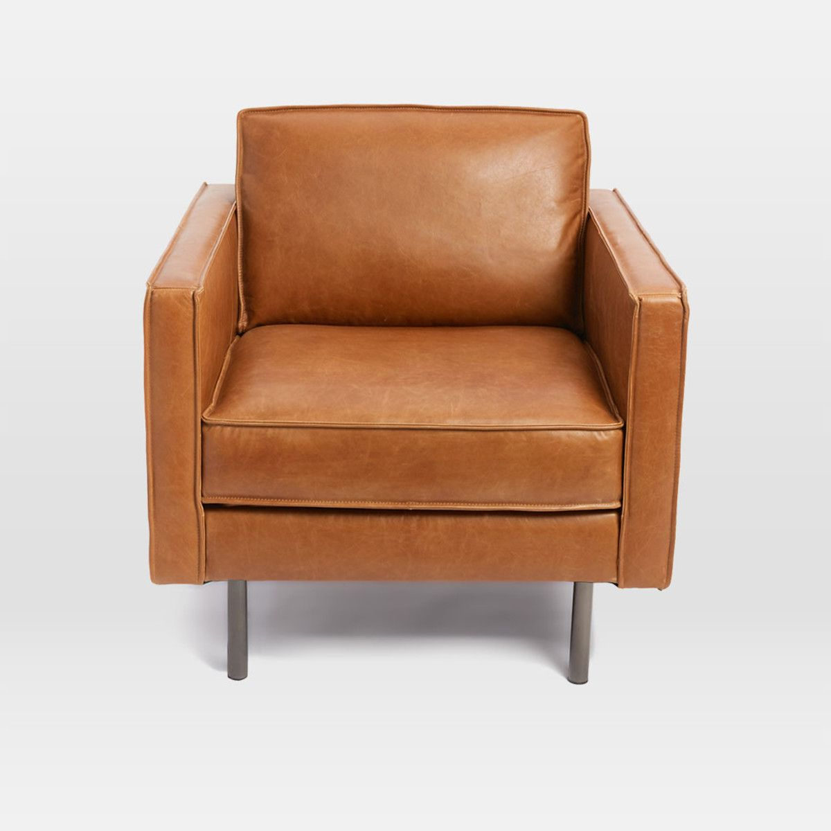 Fashionable Axel Leather Armchair (View 12 of 20)
