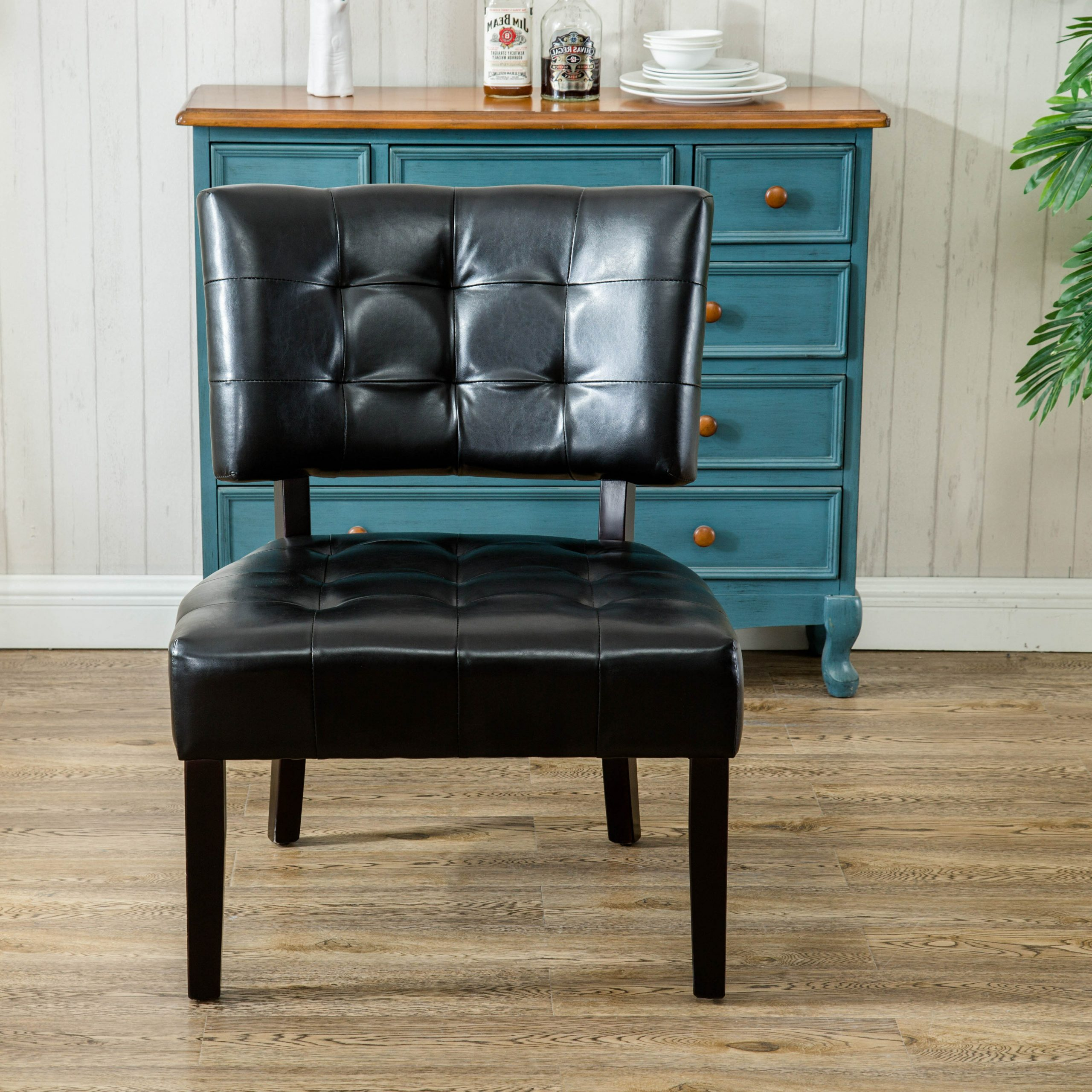 Faux Leather Accent Chairs Under $150 You'll Love In 2021 Pertaining To Newest Ansar Faux Leather Barrel Chairs (View 8 of 20)