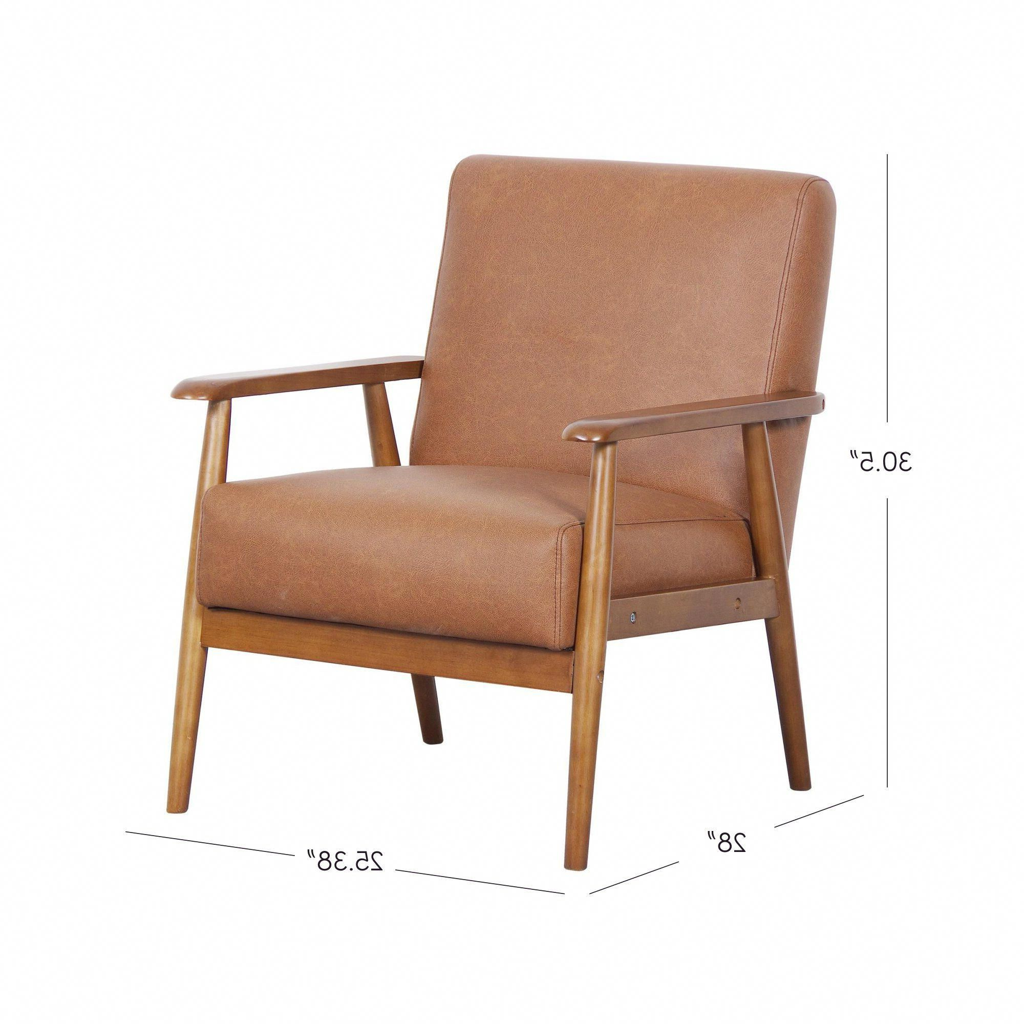 Faux Leather Chair, Armchair, Leather Chair Throughout Most Current Jarin Faux Leather Armchairs (View 4 of 20)