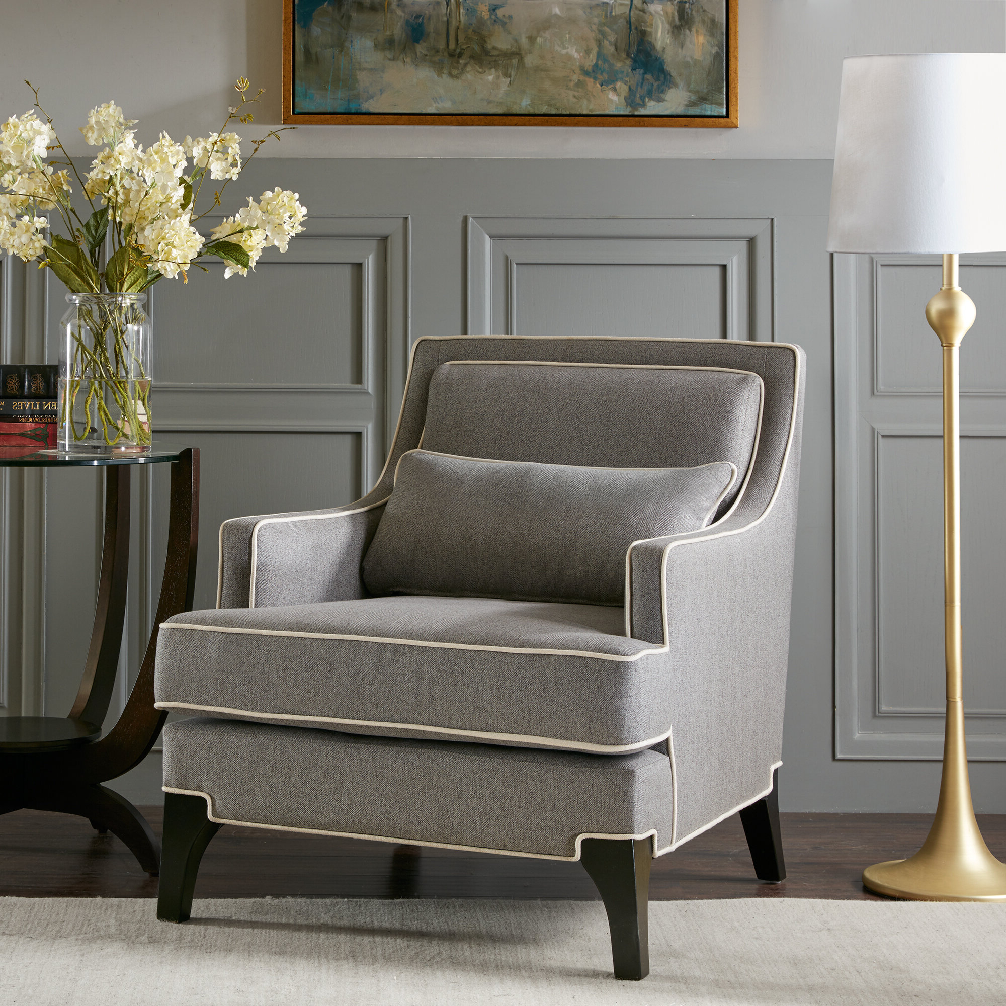 Favorite Briseno Barrel Chairs Pertaining To Collin Armchair (View 16 of 20)